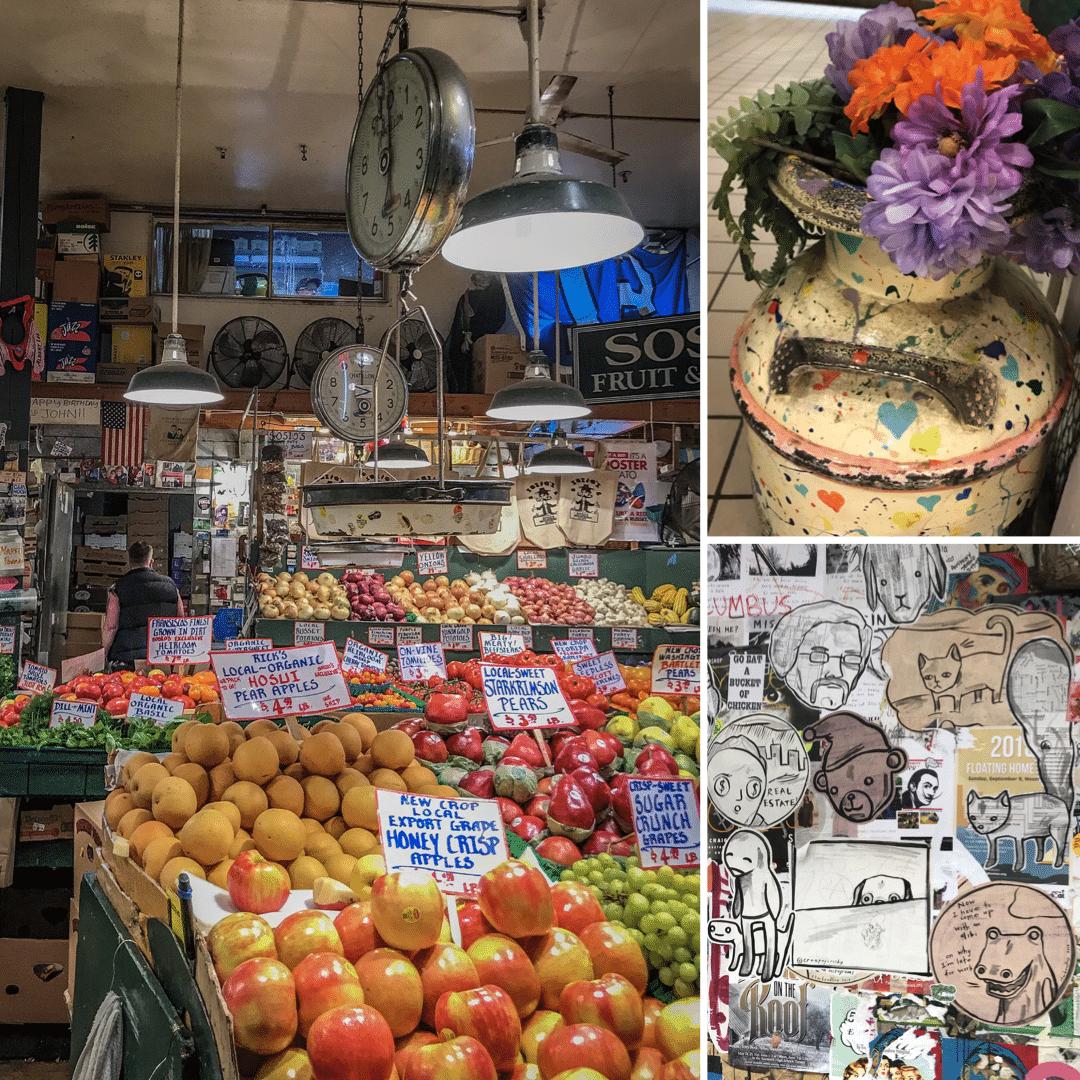Le public market à Seattle
