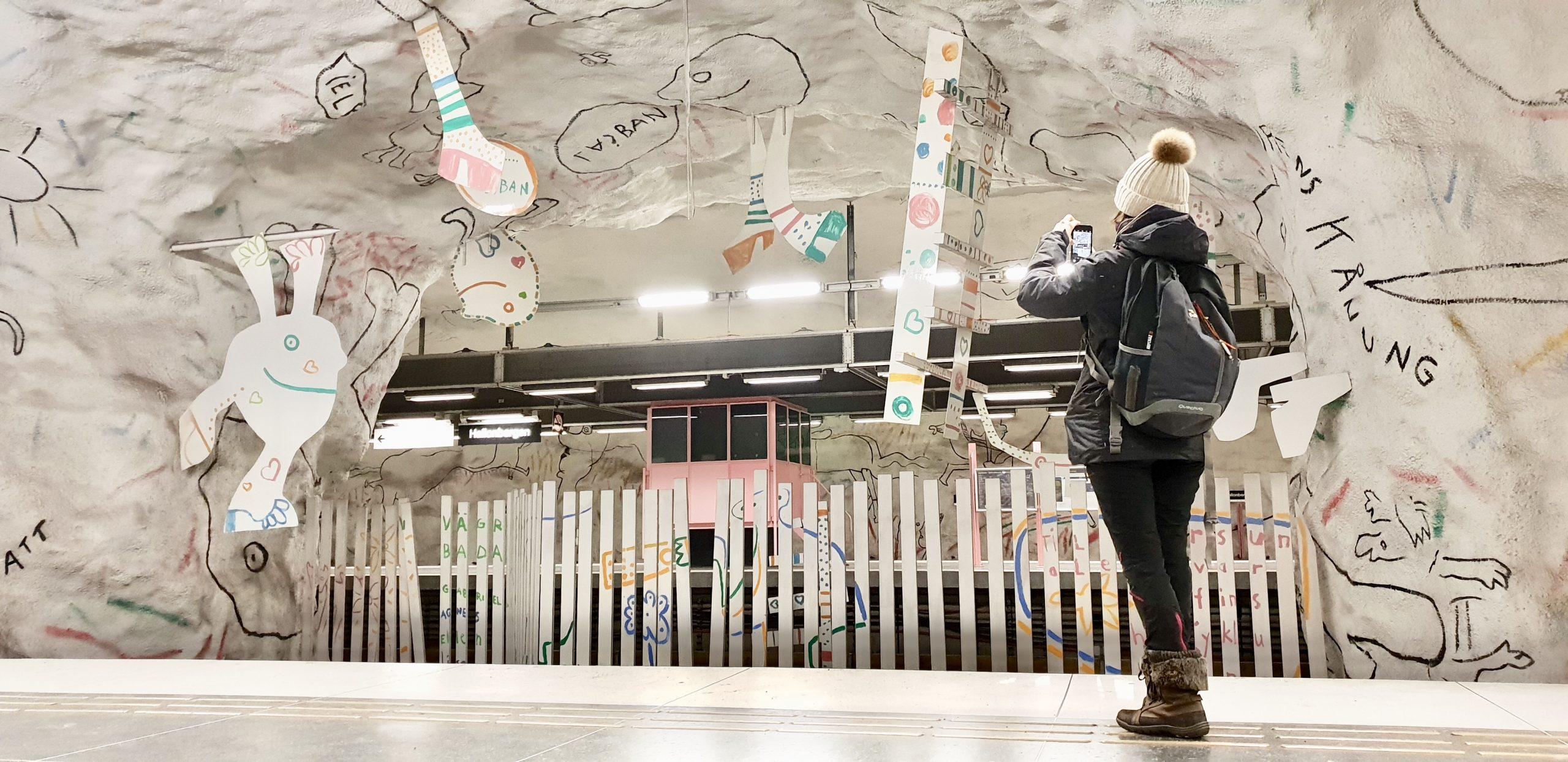 station métro hallonbergen stockholm