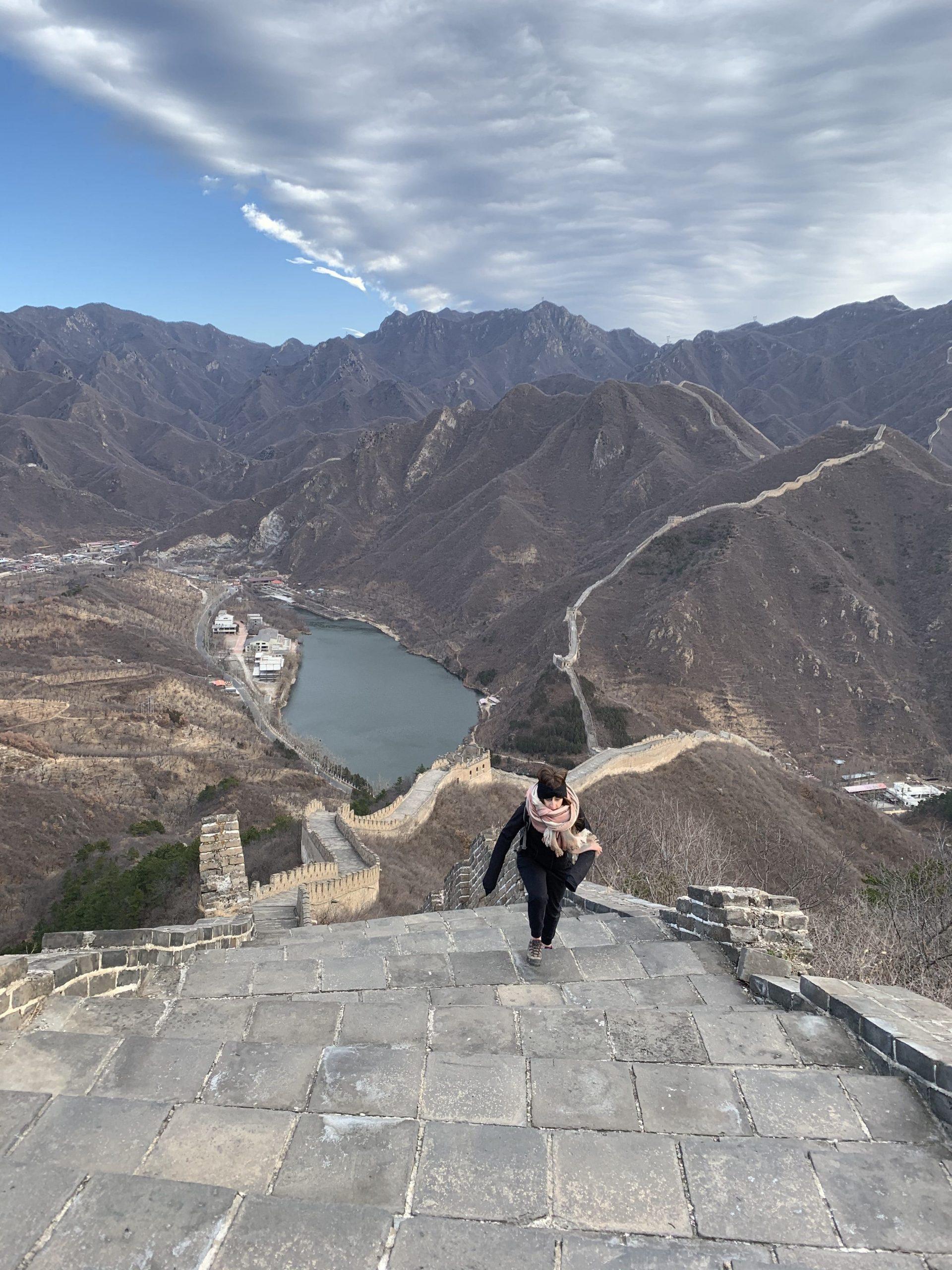 muraille de chine à Pékin
