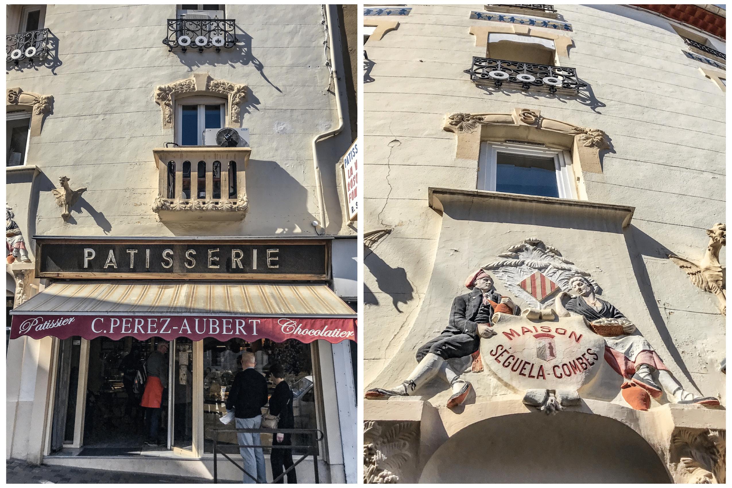 La pâtisserie Perez-Aubert