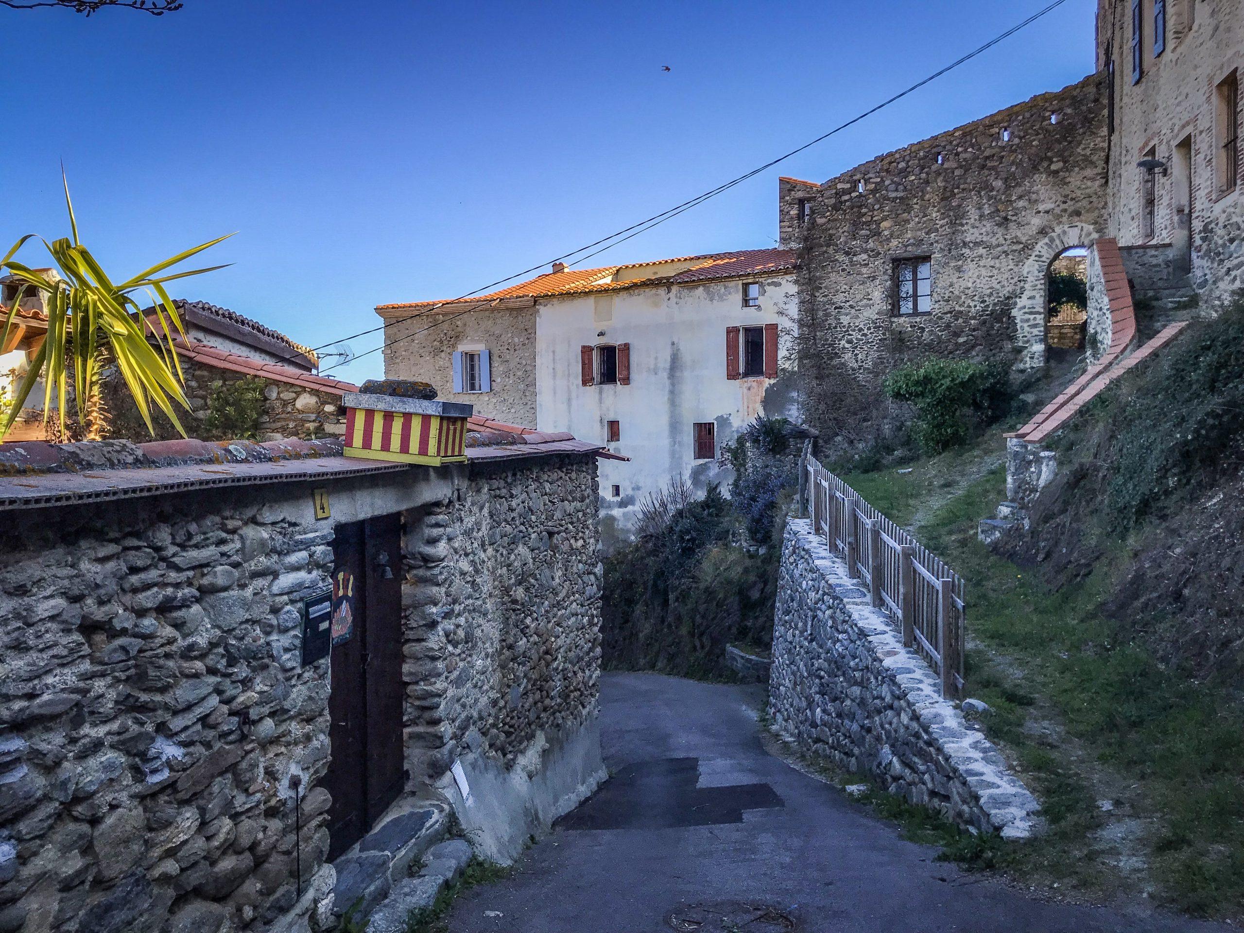 Village de Joch en pyrénées-orientales