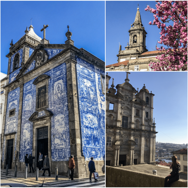 églises et cathédrales à porto blog