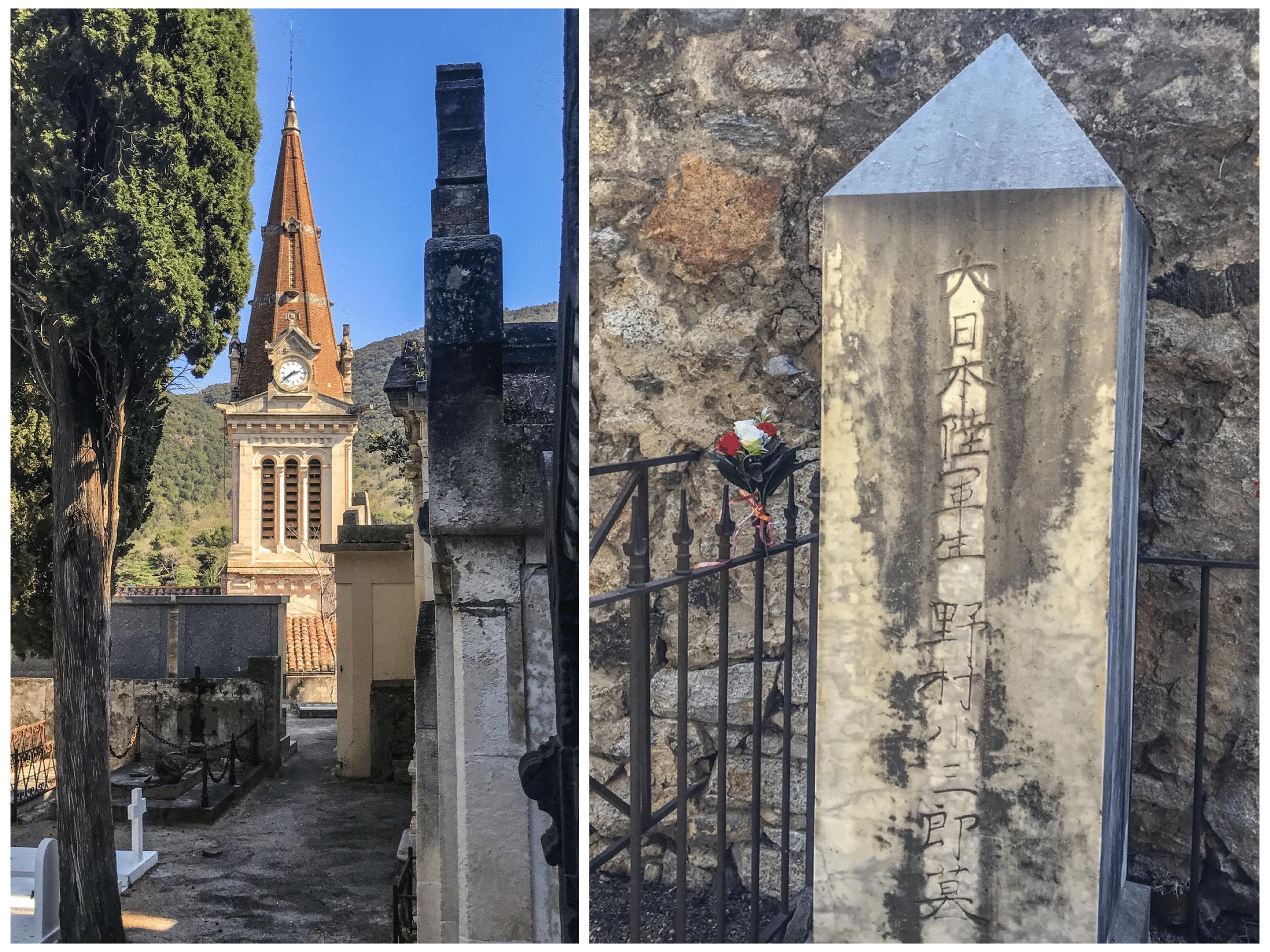 le cimetière d'amélie les bains