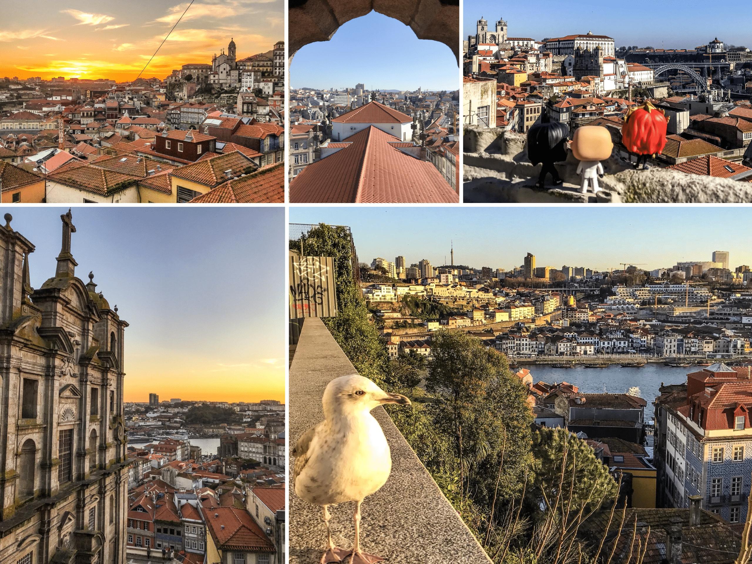 les meilleurs points de vue à Porto