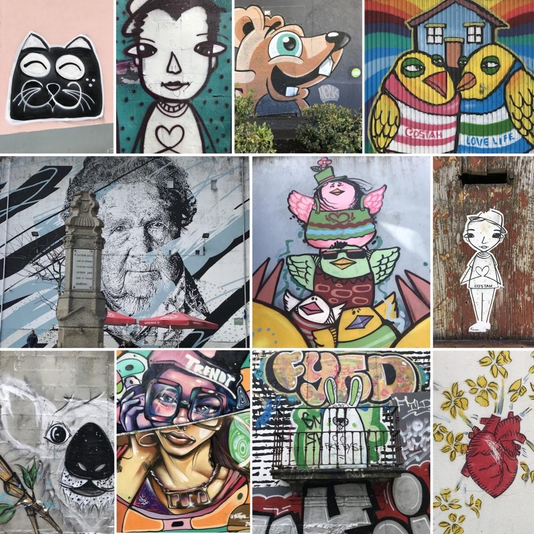 street art à porto blog