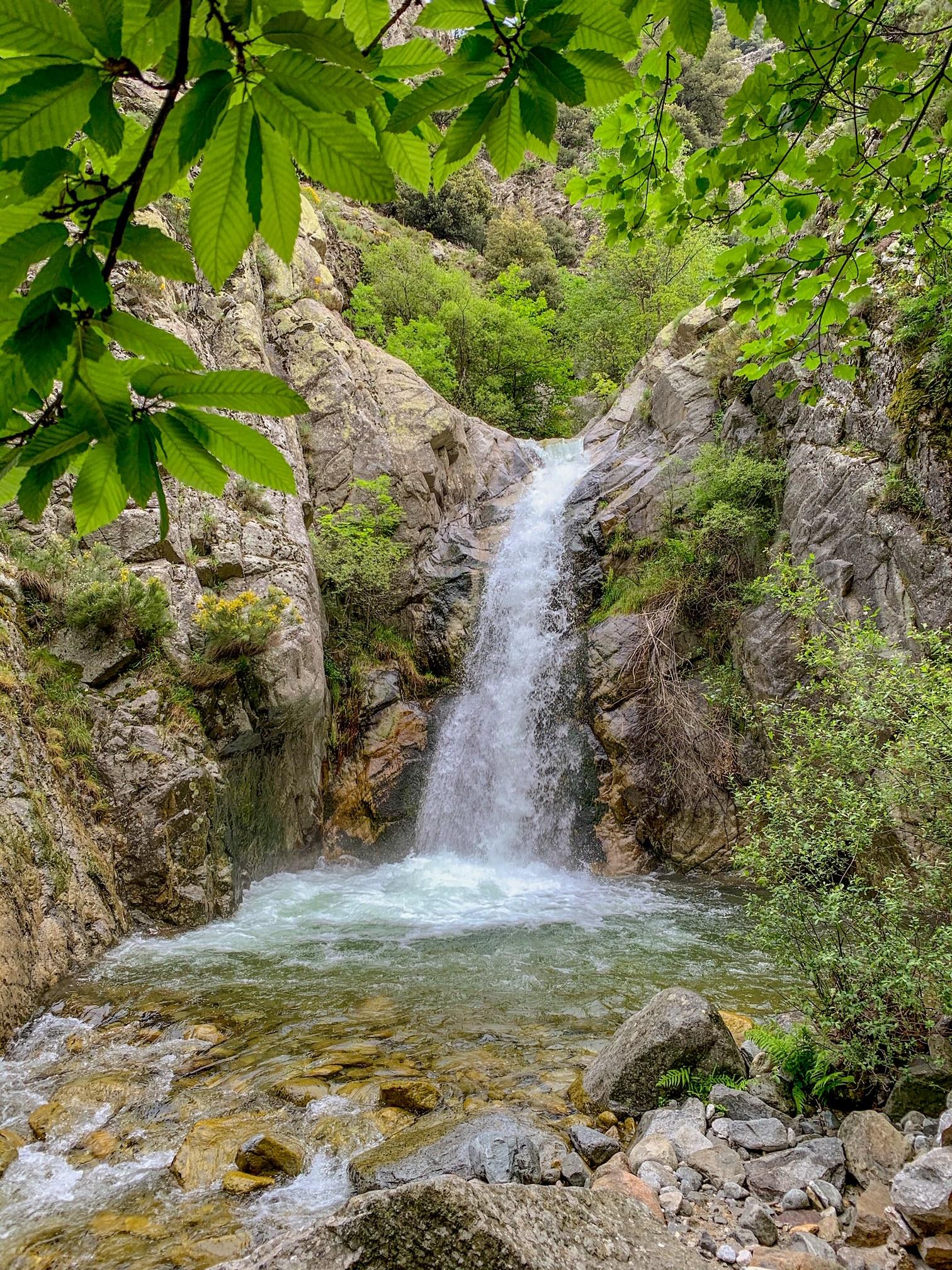 cascade du saint vincent vernet les bains