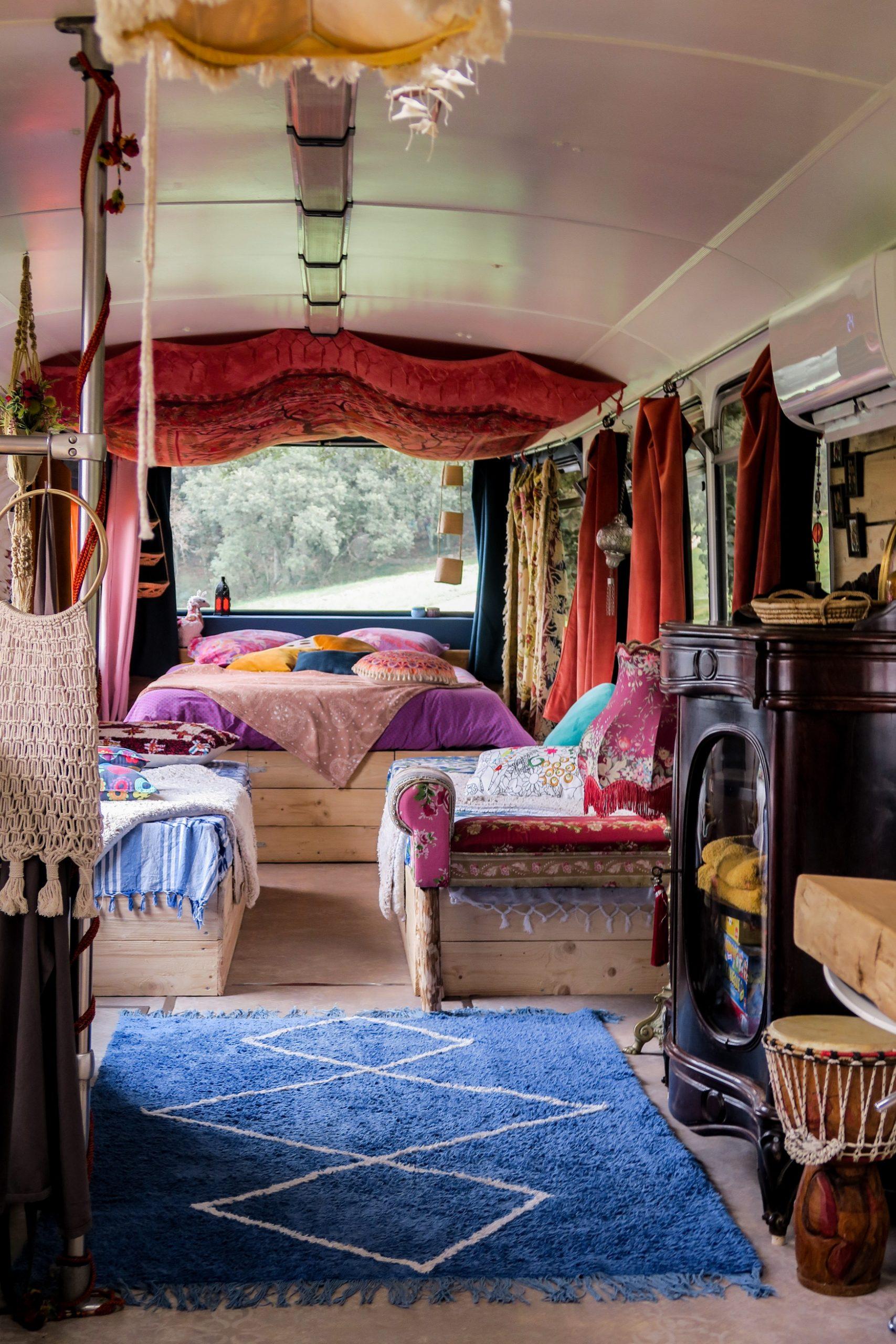 dormir dans un bus pyrénées orientales