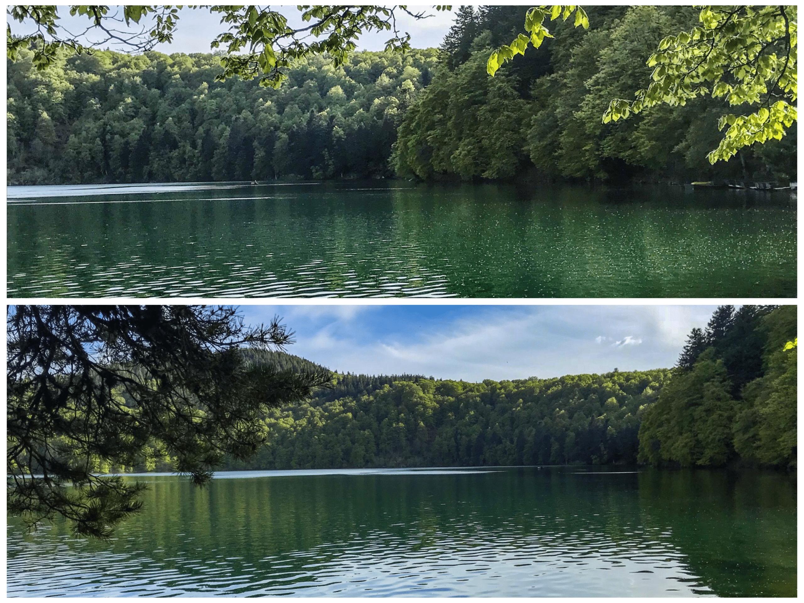 lac pavin auvergne puy de dome