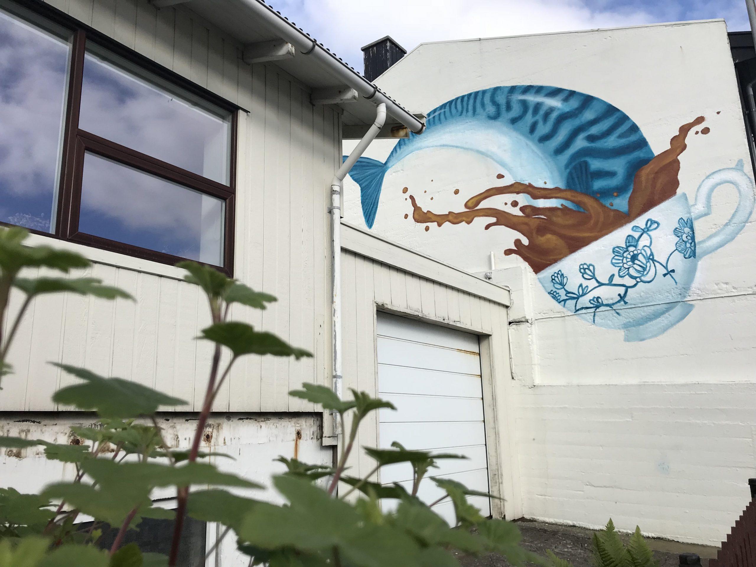 street-art iles féroé