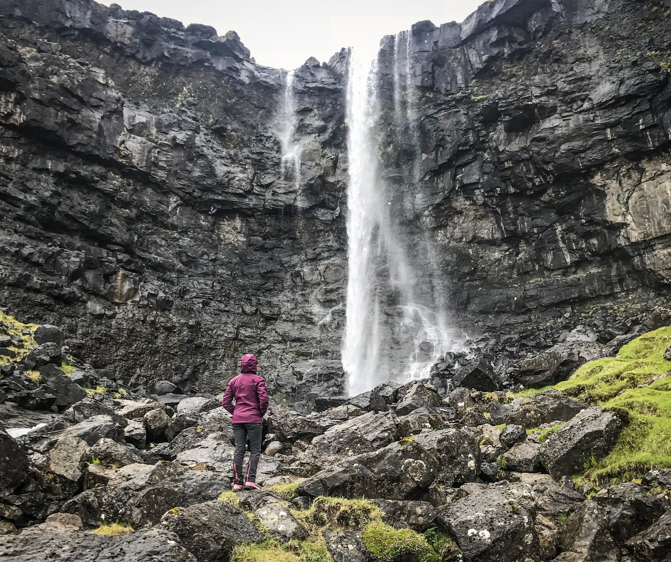 fossa iles féroé cascade