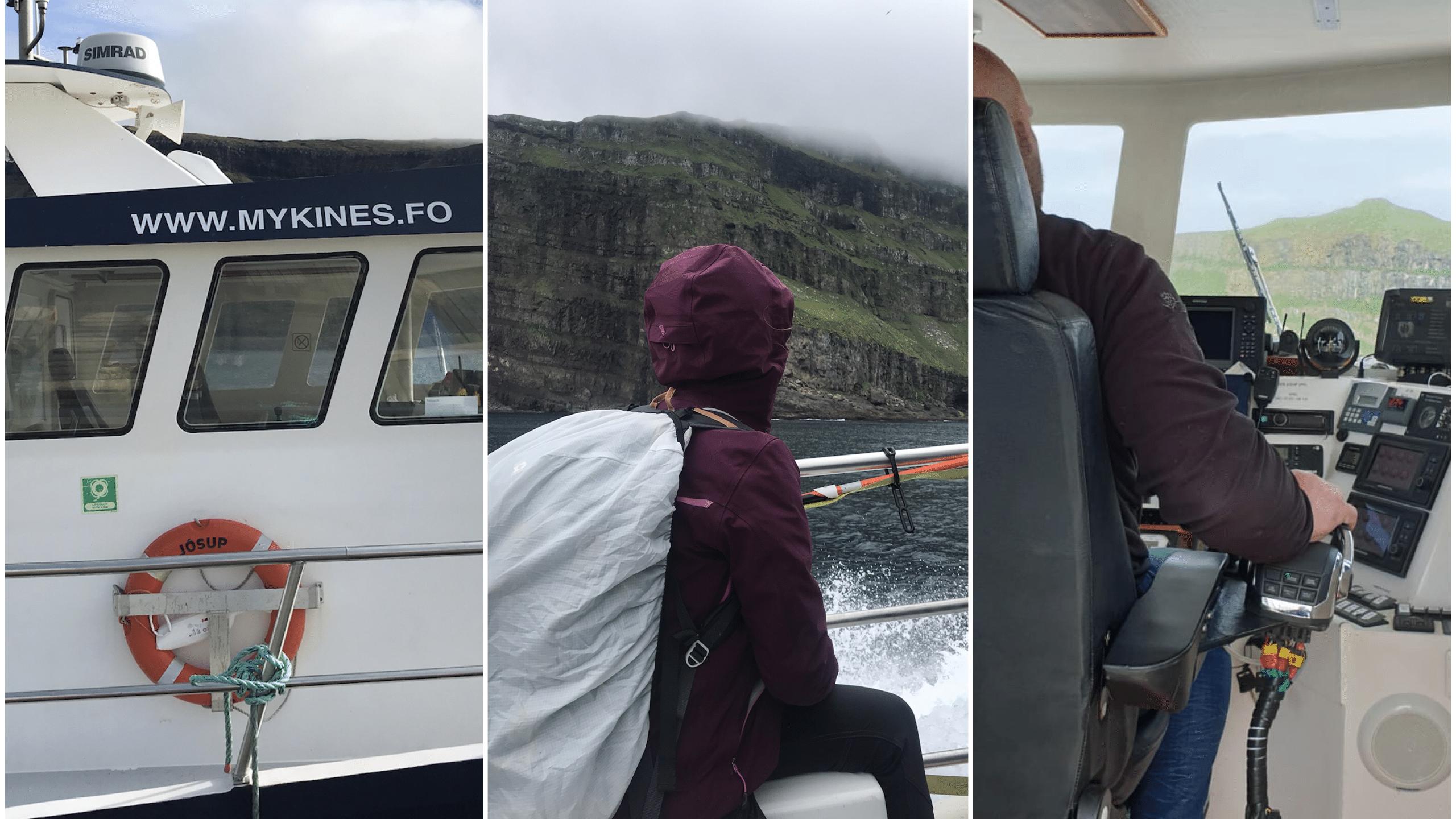 iles féroé ferry mykines