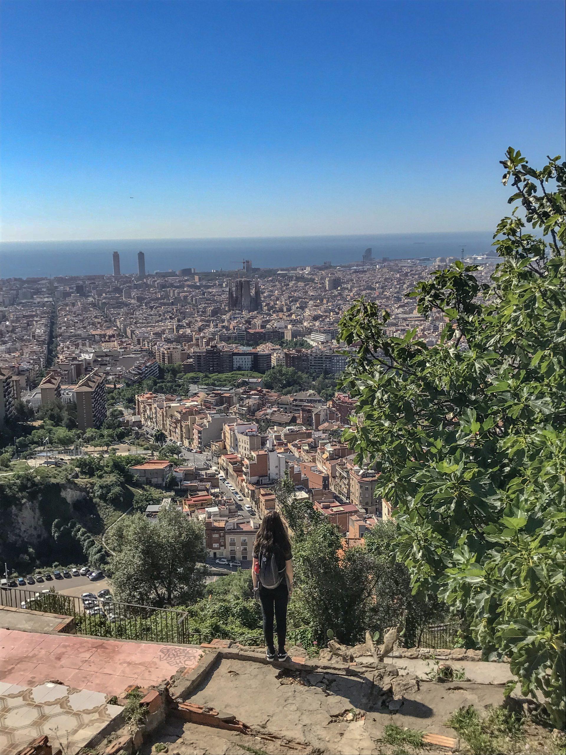 point de vue barcelone insolite bunkers de carmel
