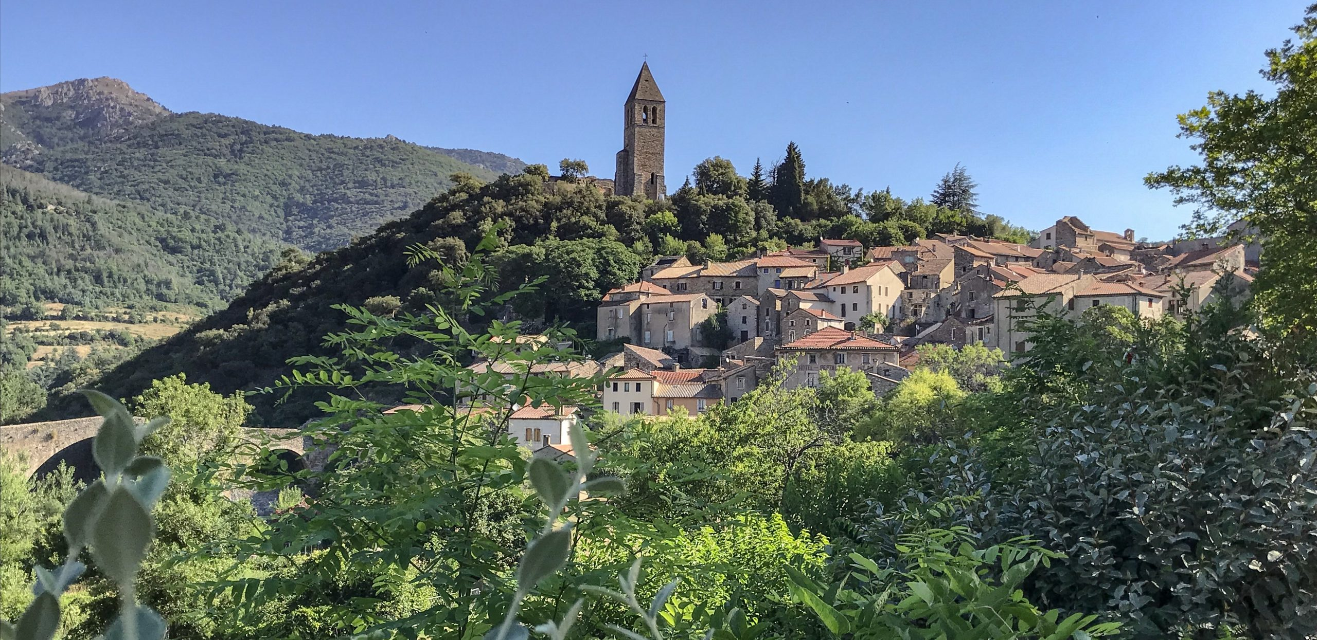 Olargues plus beau village de France