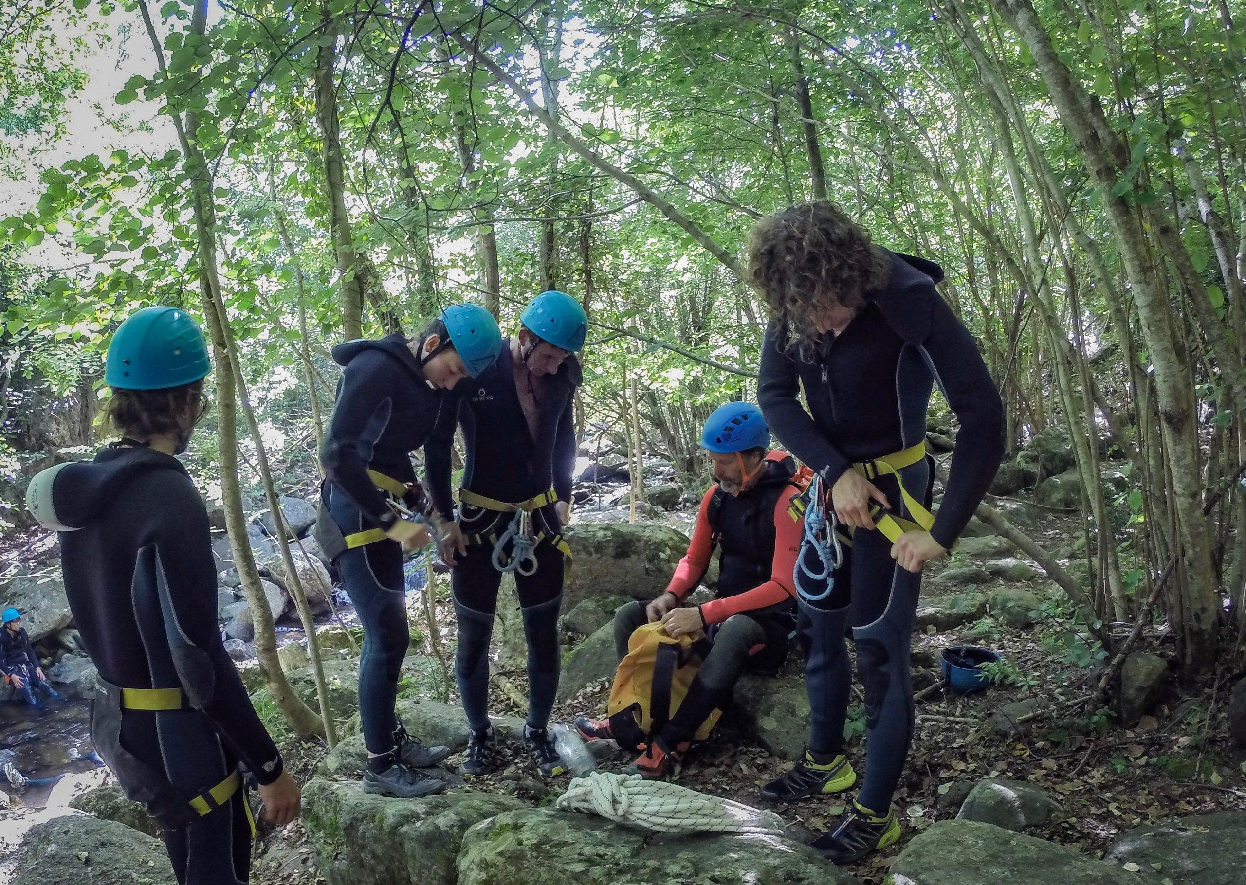 canyoning gorges du llech pyrénées catalanes
