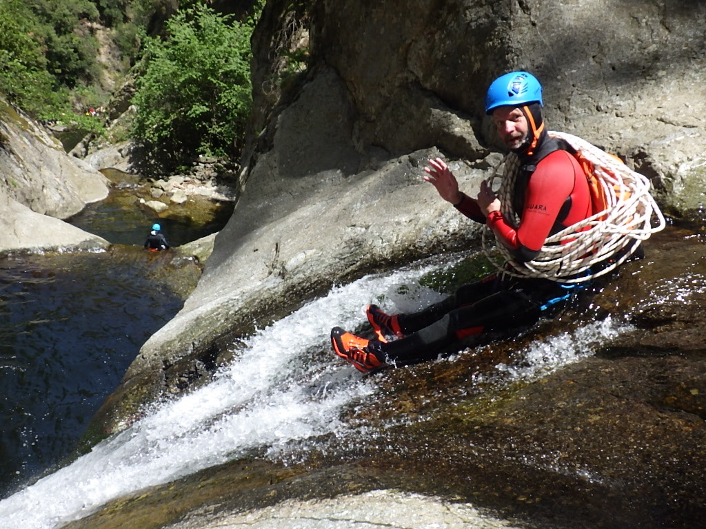 christophe guide canyoning extreme ctp