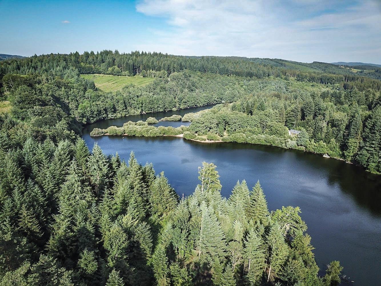lac des saints peyres haut languedoc