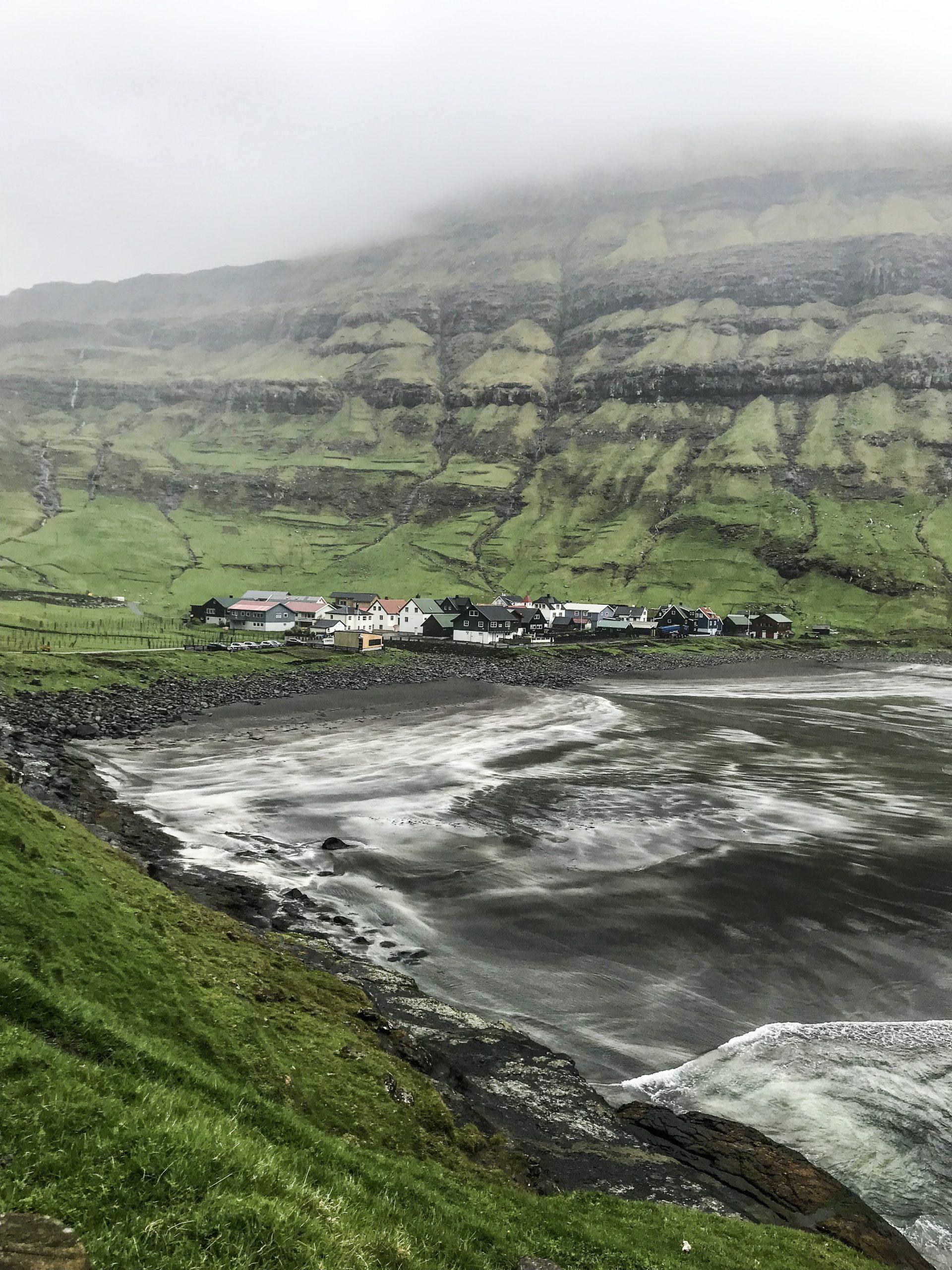 îles féroé Tjørnuvík village