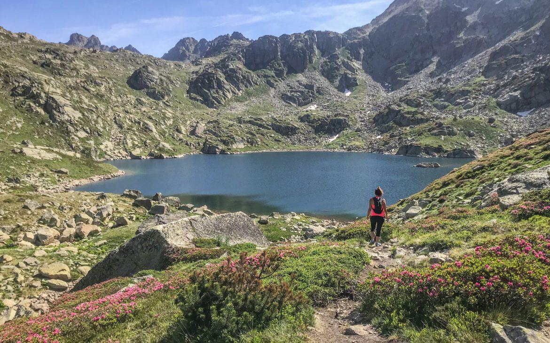 La randonnée des Lacs Juclar
