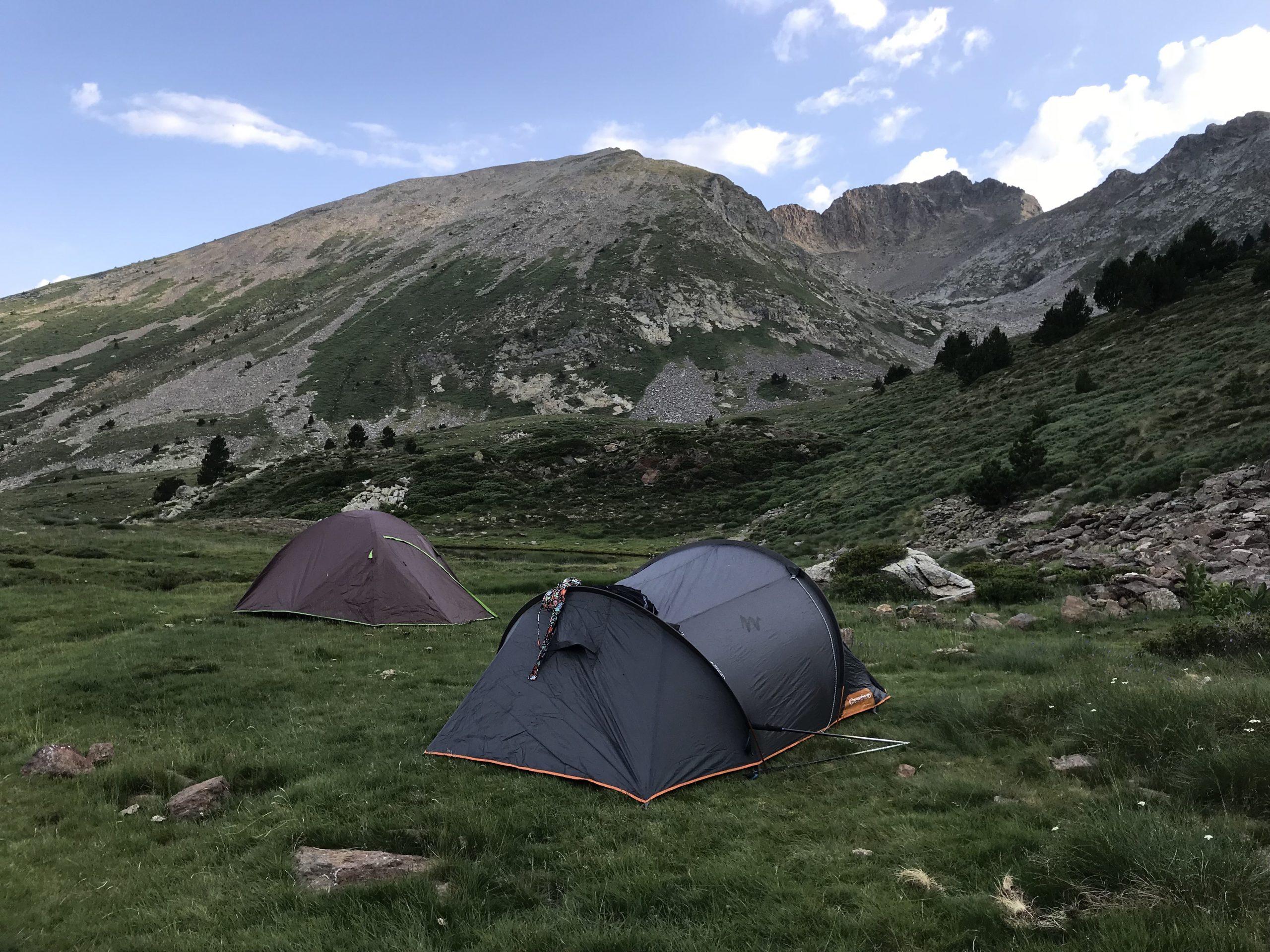 camping canigou randonnées deux jours