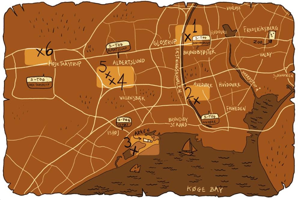 carte aux géants thomas dambo copenhague