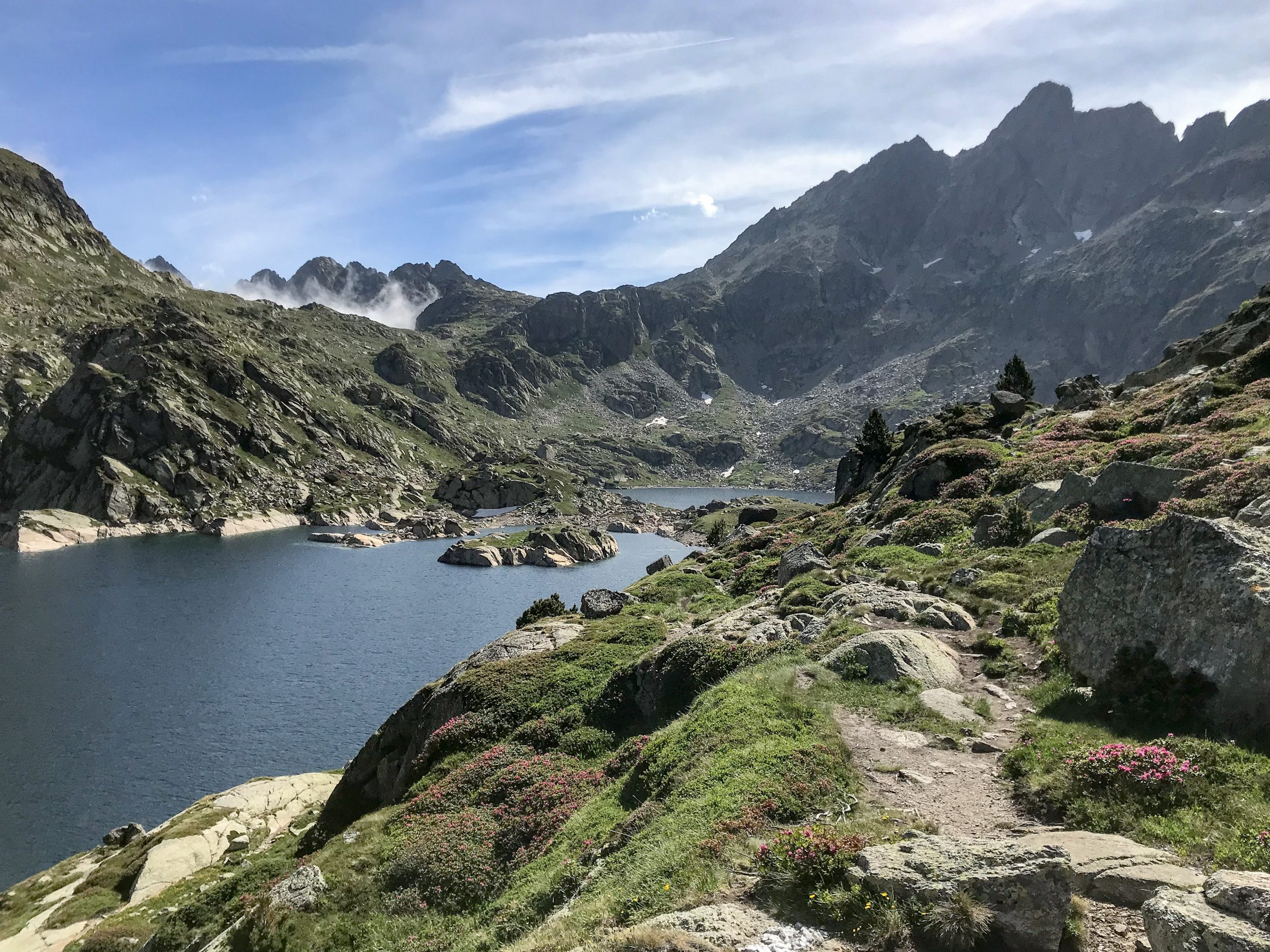 lac juclar, plus grand d'andorre