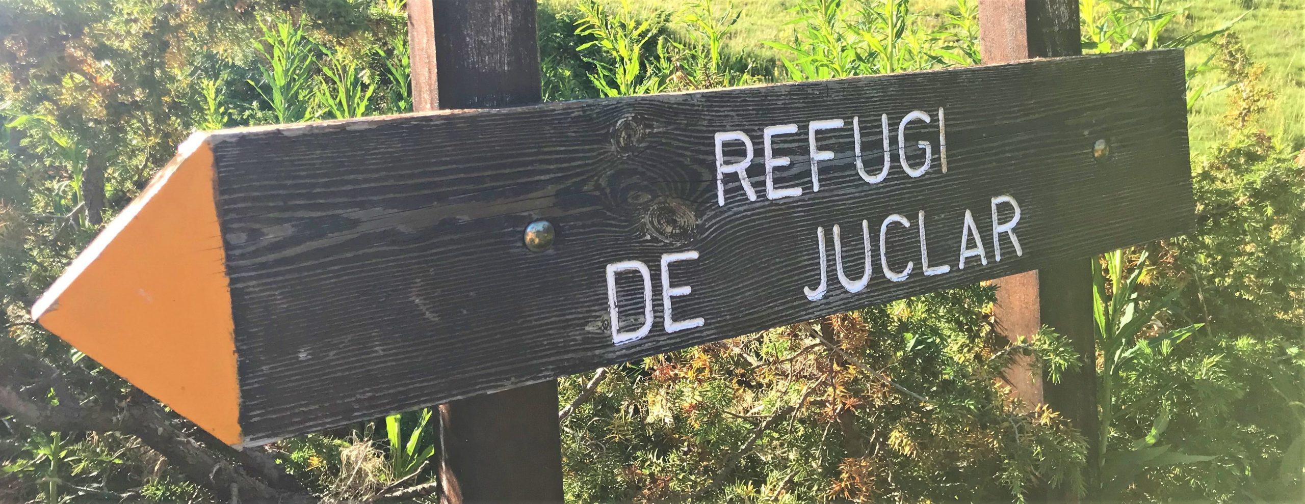 refuge juclar randonnée