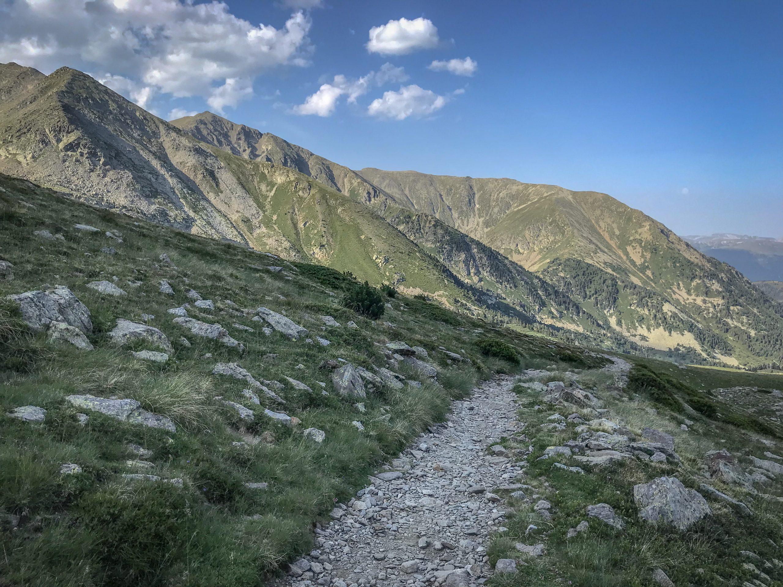 sentier de randonnée pic du canigou