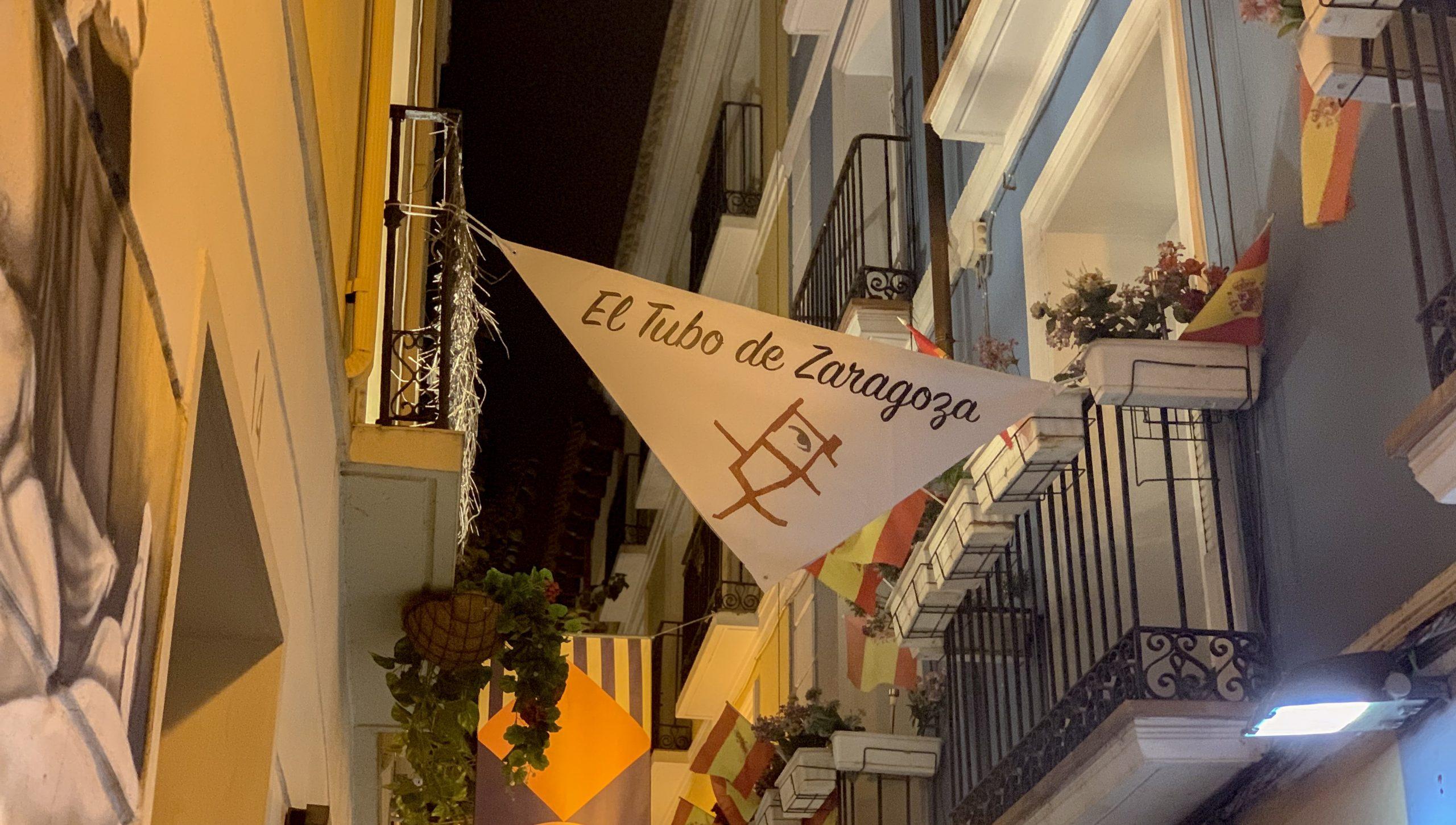 quartier animé de Saragosse