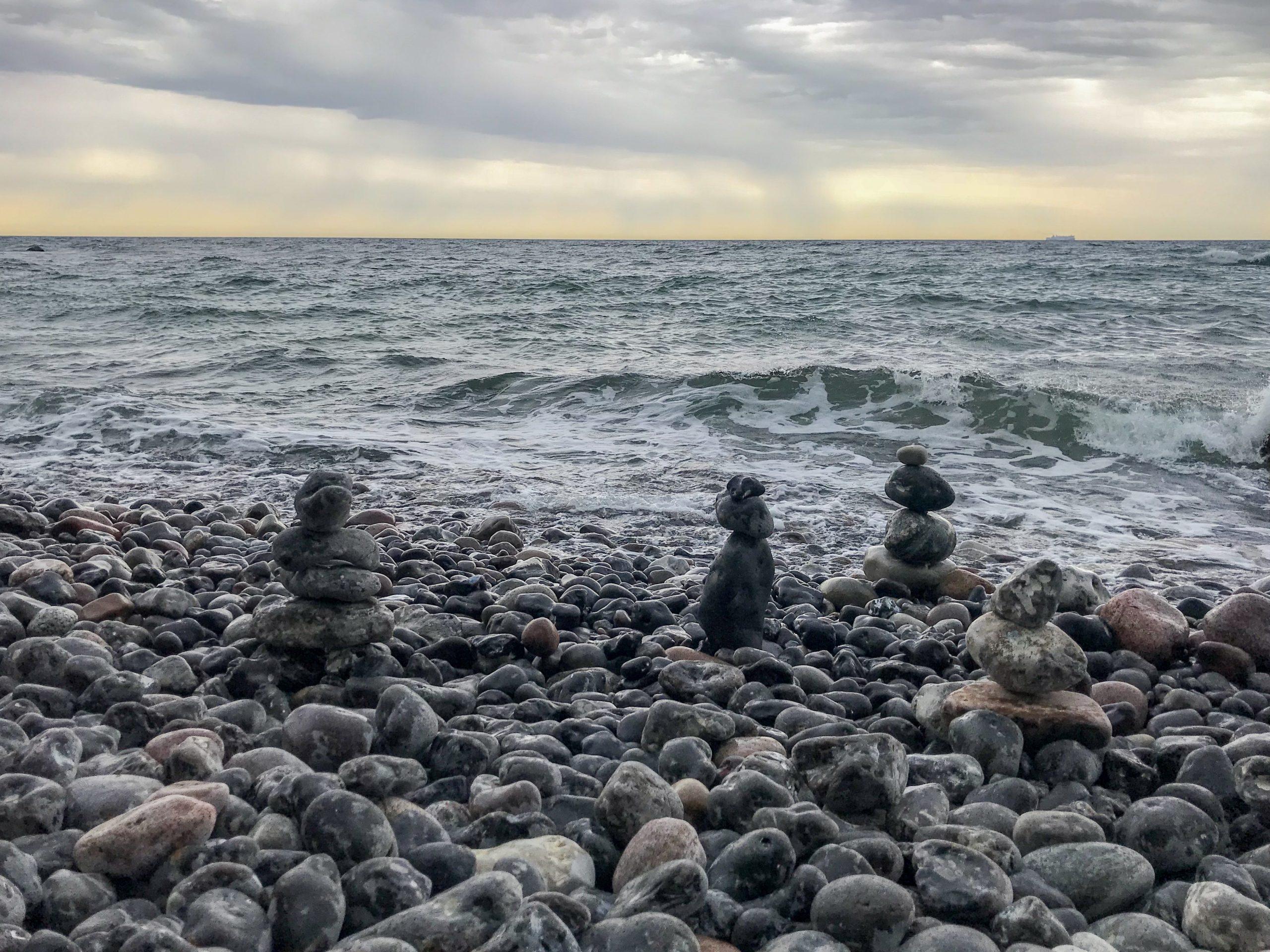 mer baltique danemark ile de mon