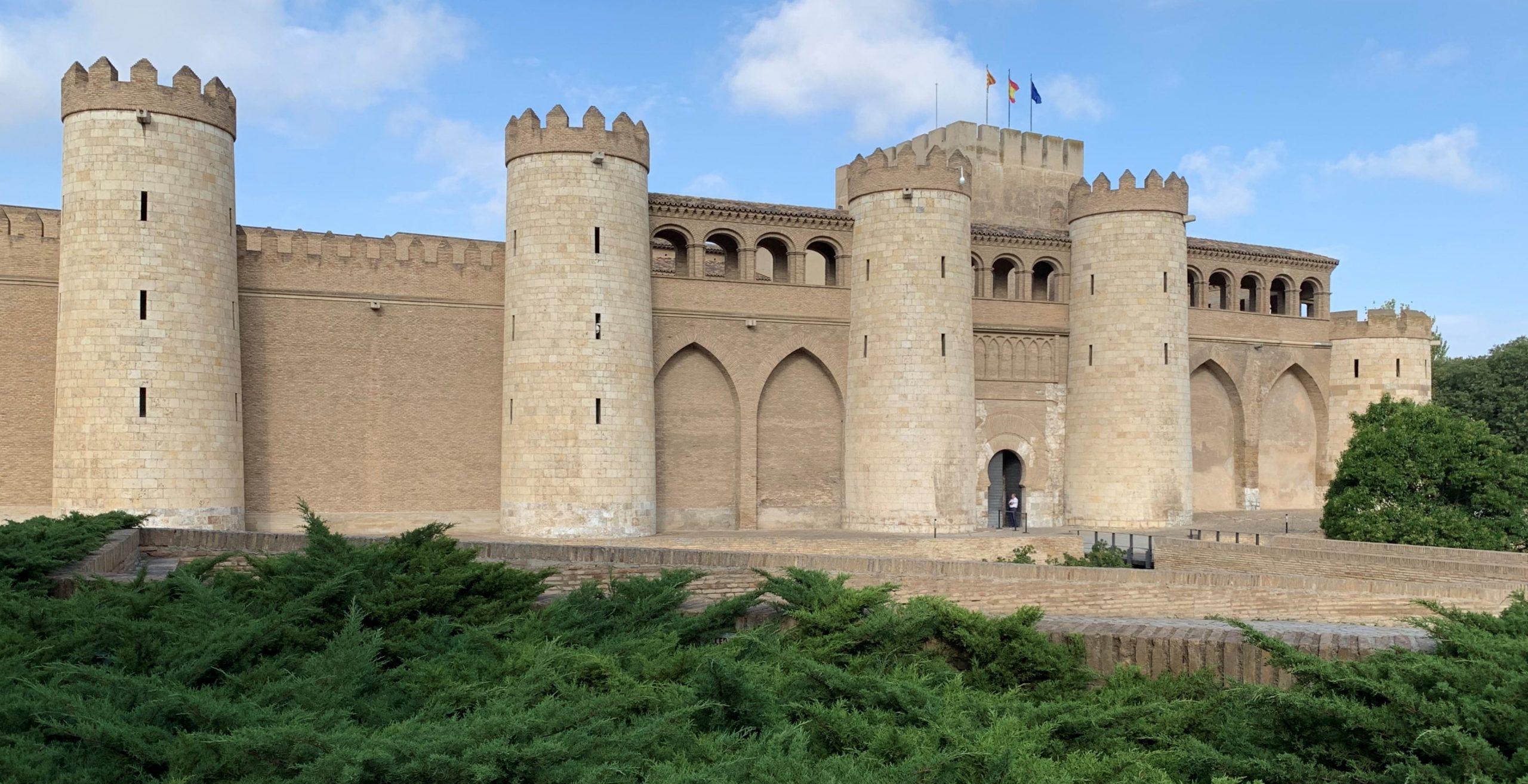 entrée du palais aljaferia