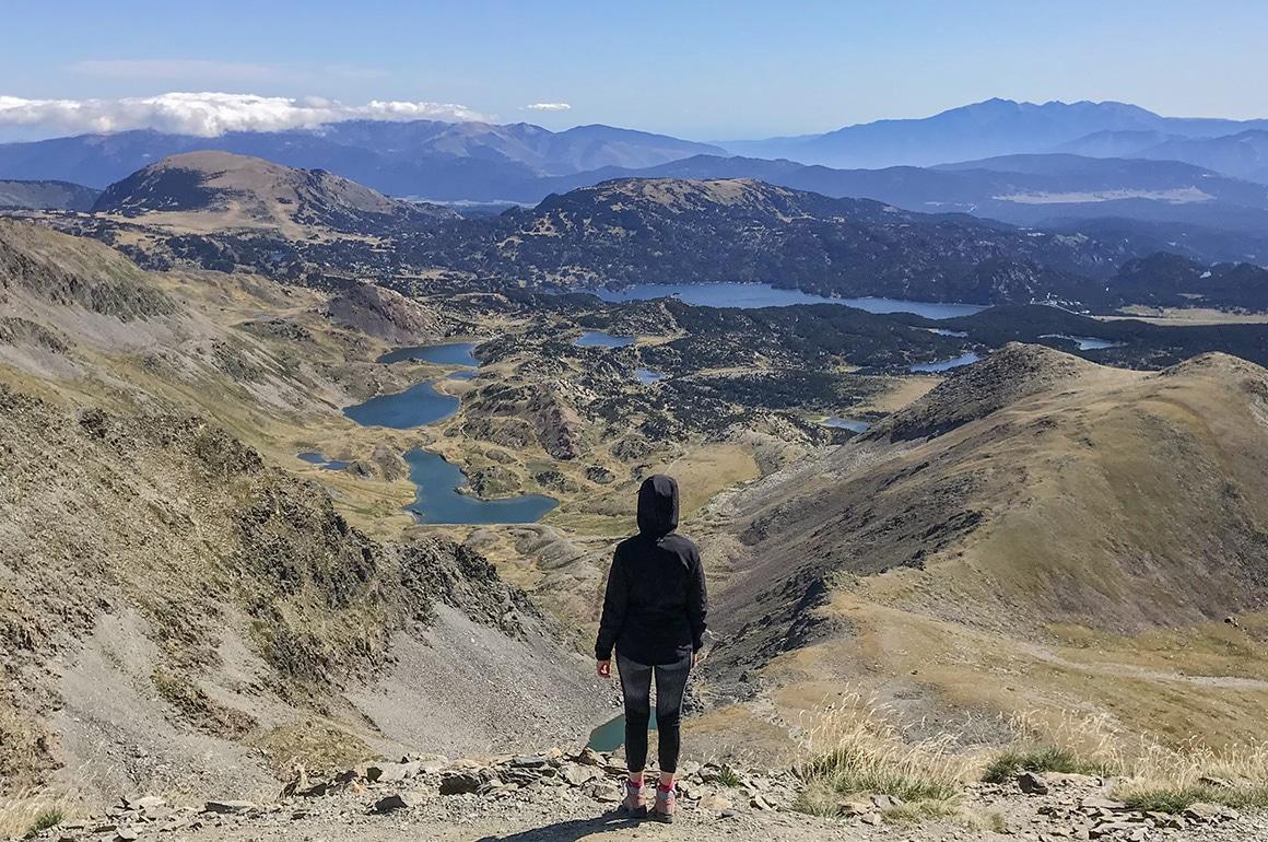 Le Pic du Carlit & ses lacs