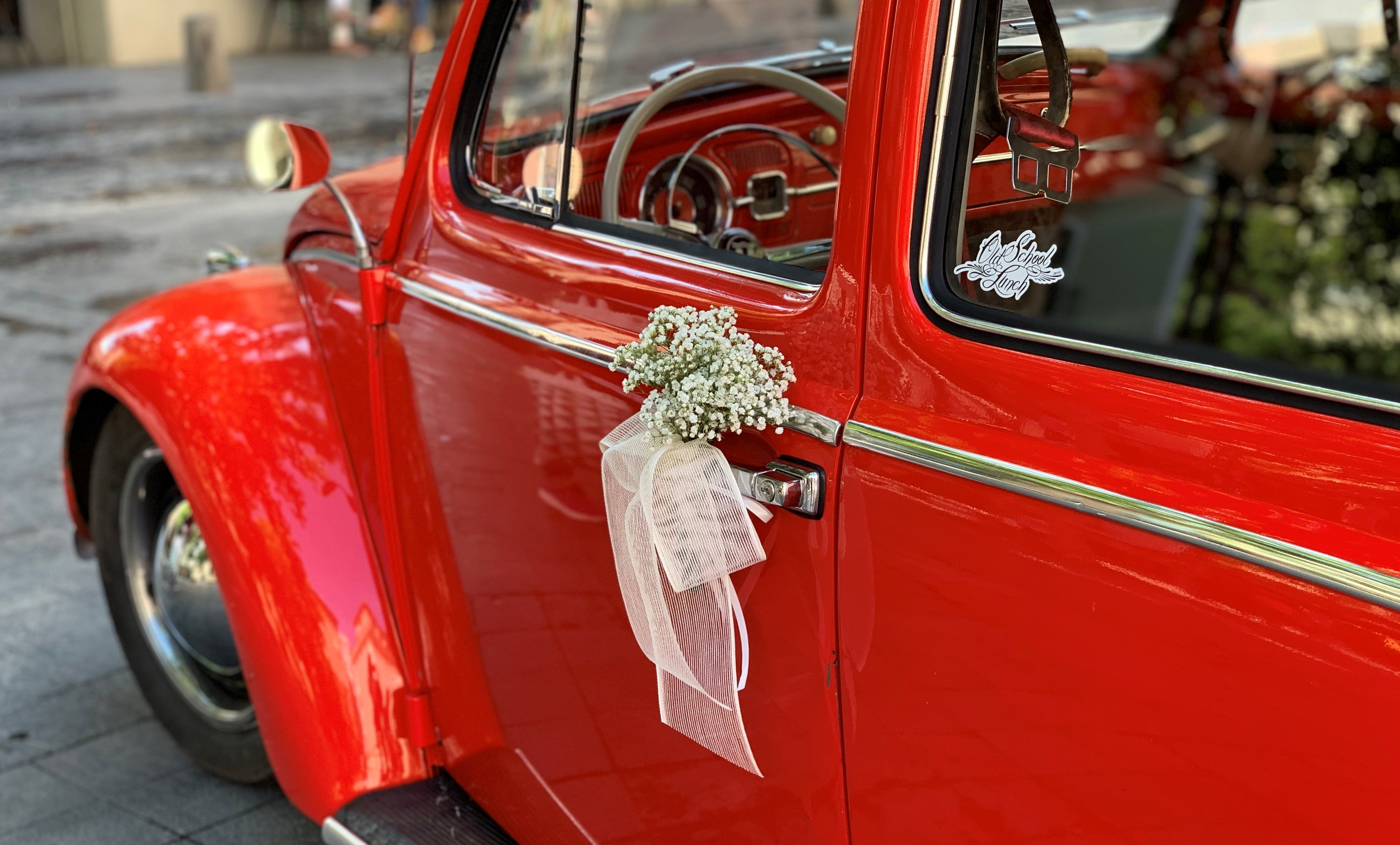 voiture de mariés à saragosse