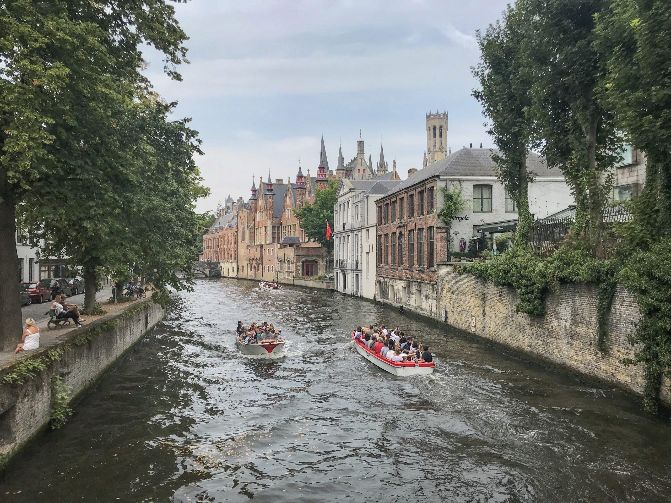 balades sur les quais de Bruges