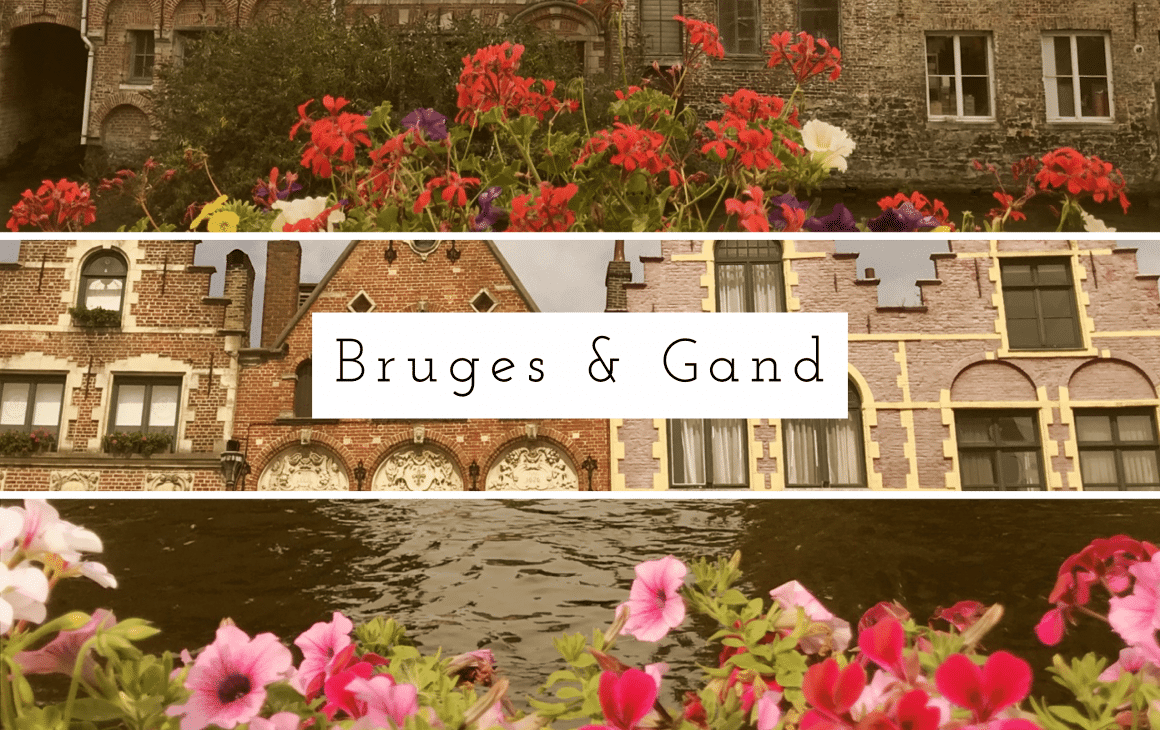 Le petit guide pour visiter Bruges et Gand