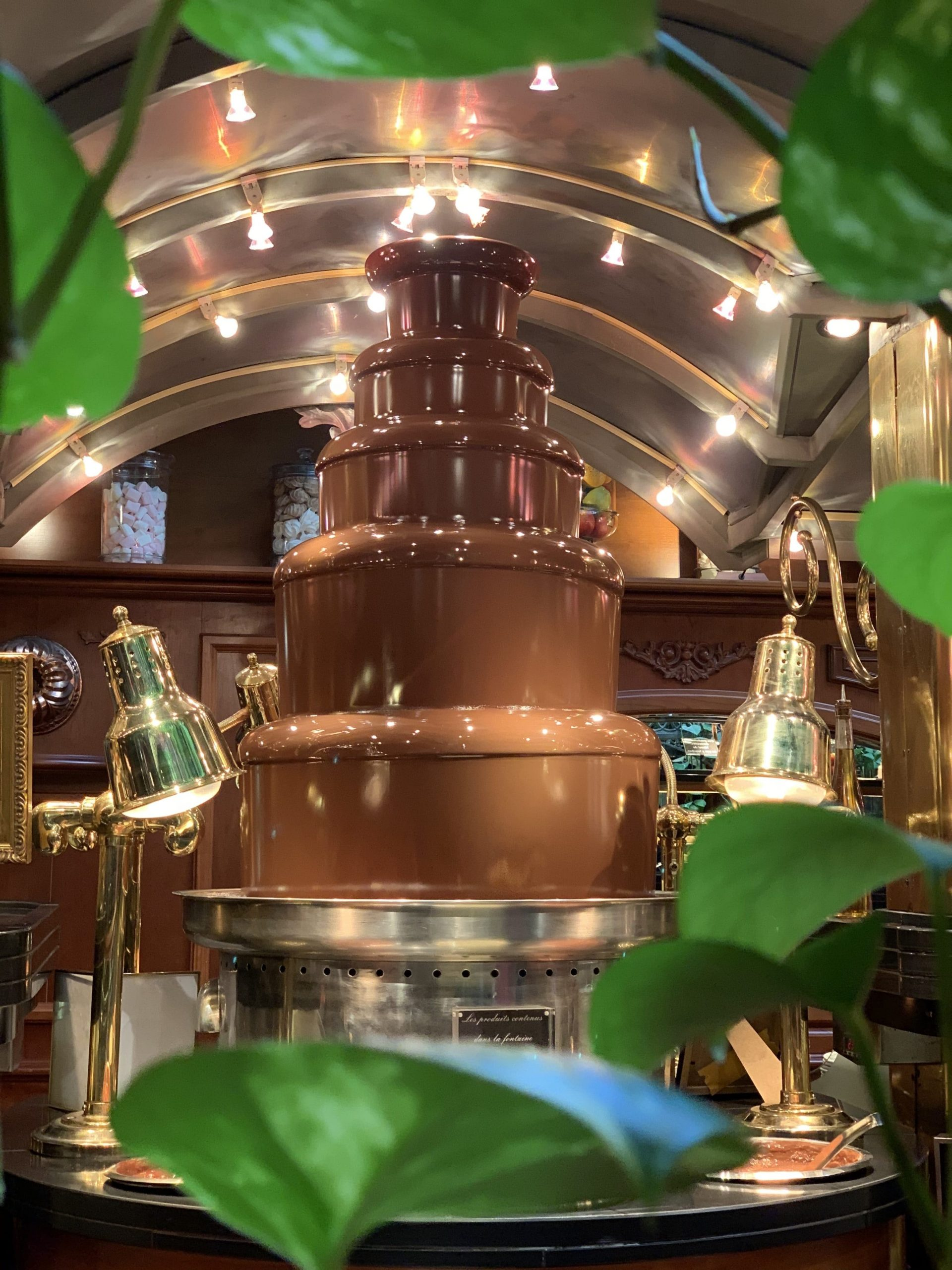 fontaine de chocolat des grands buffets