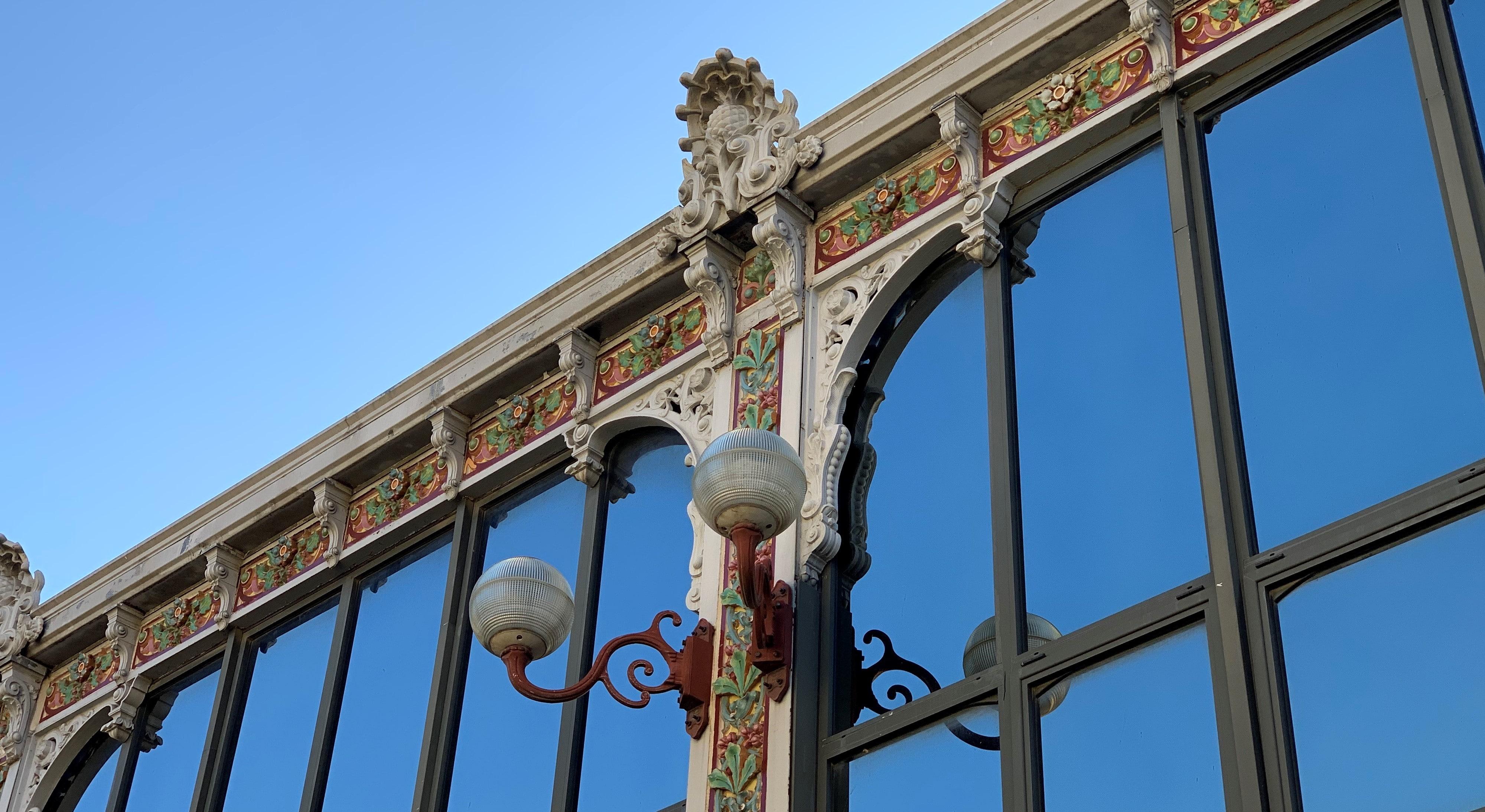 détails de l'architecture des halles