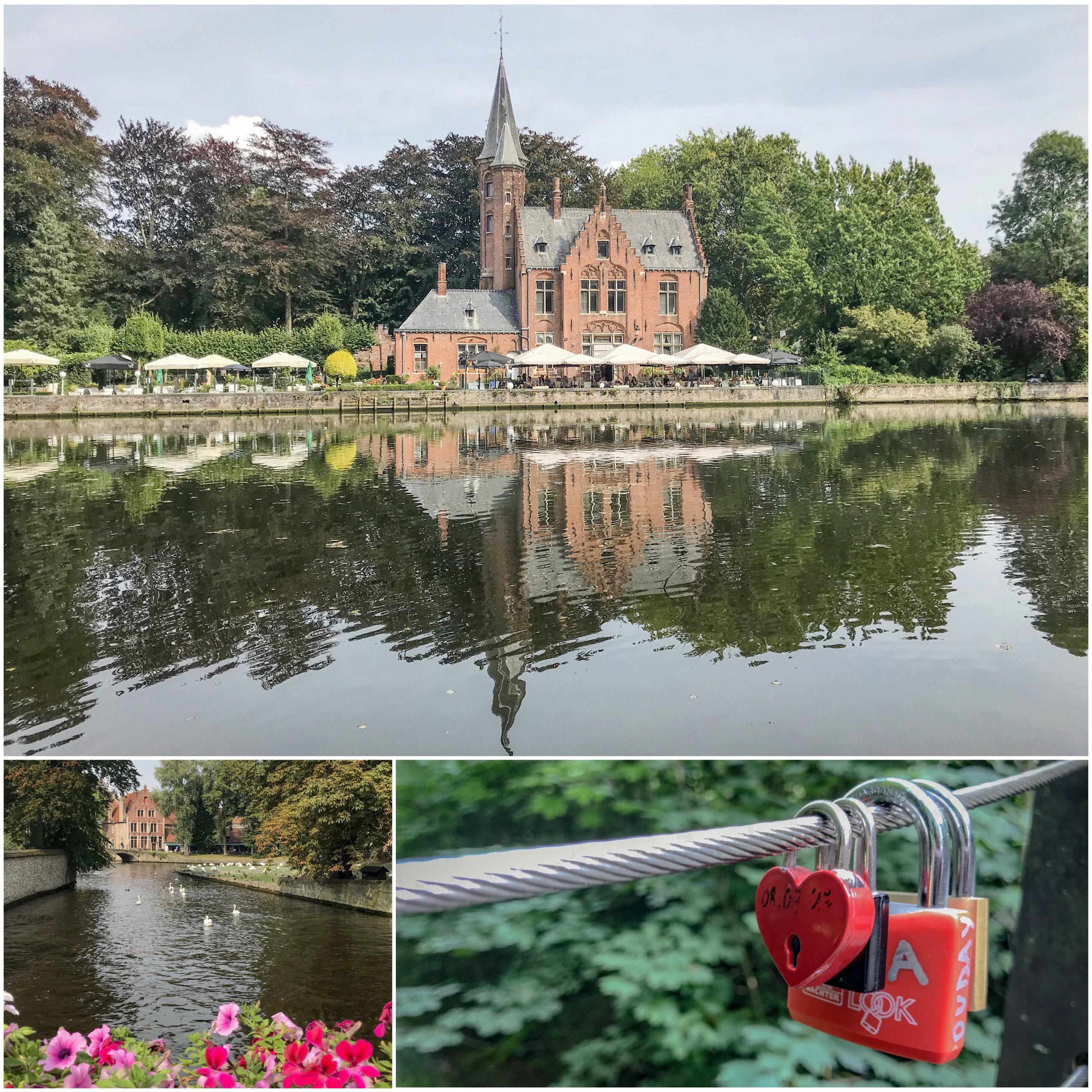 lac minnewater à Bruges