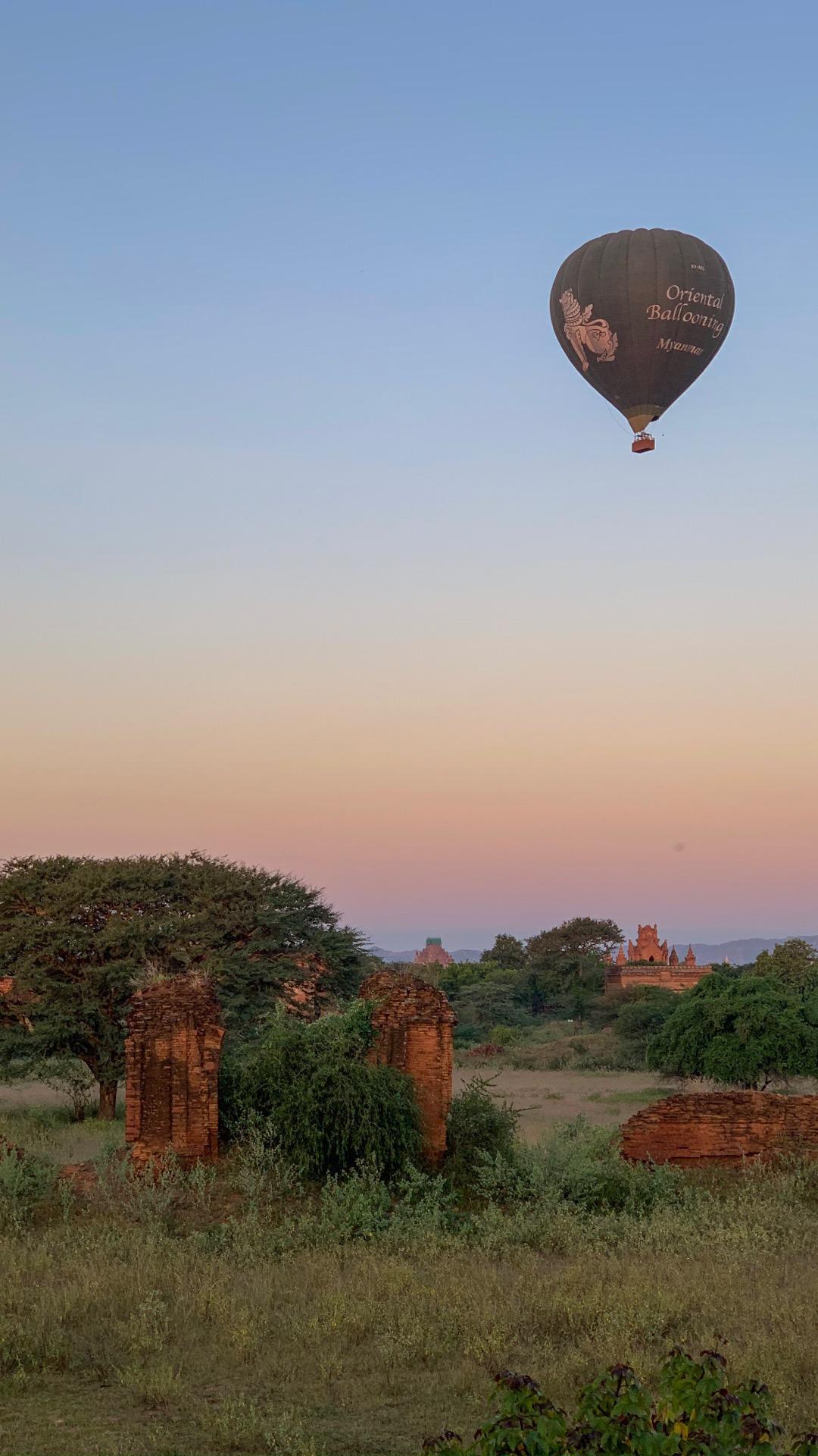 montgolfiere de bagan
