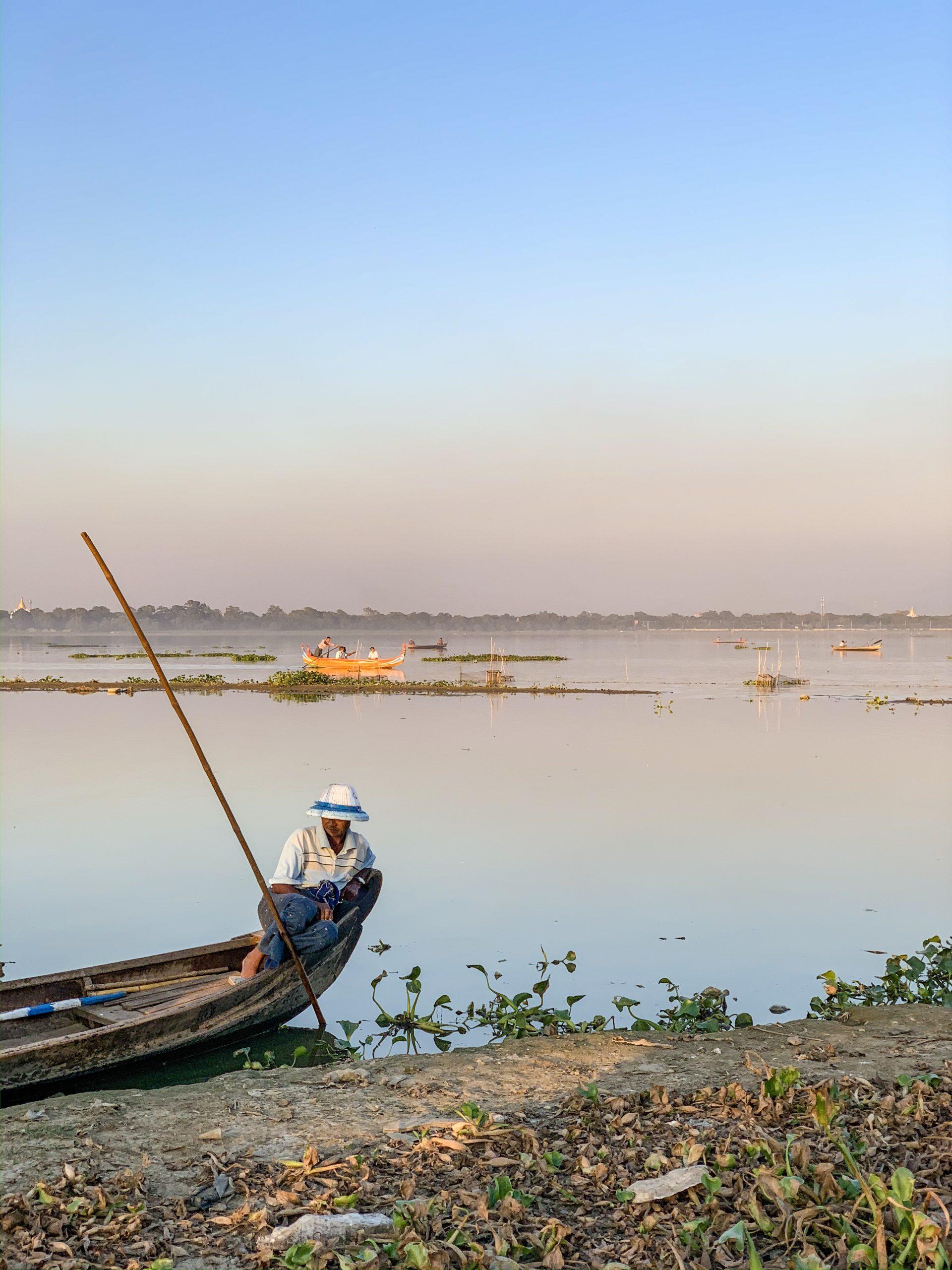 le Pont Ubein à Mandalay