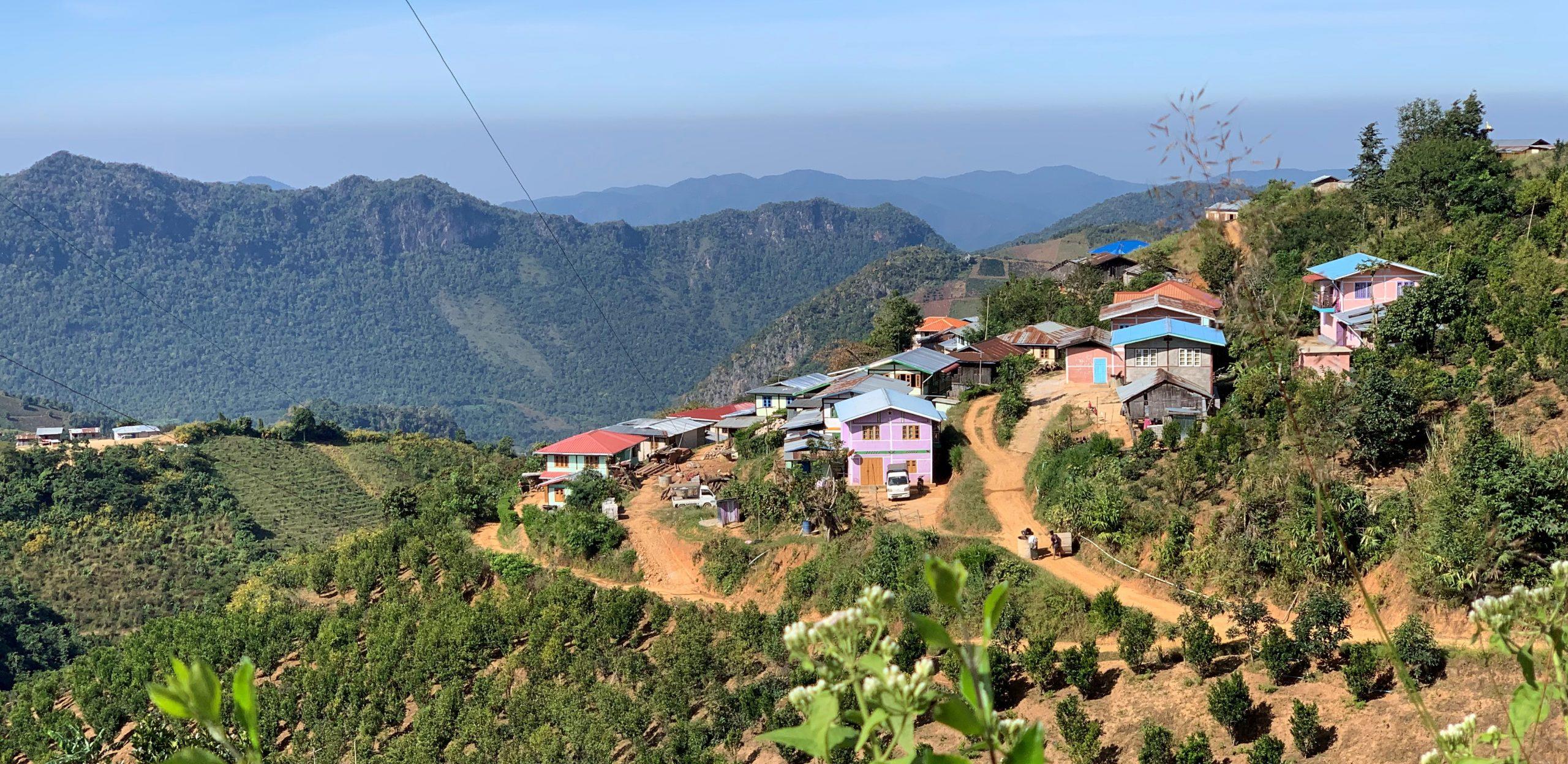 village dans les hauteurs de Kalaw