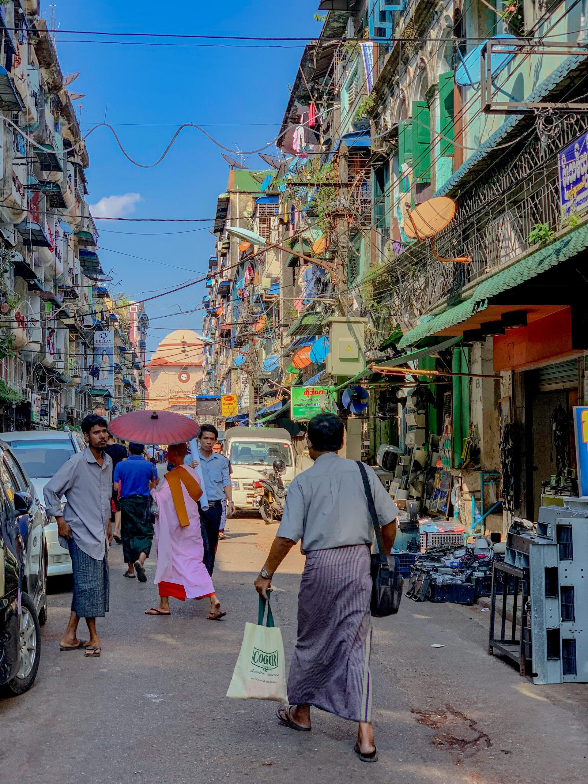 La vie à Yangon
