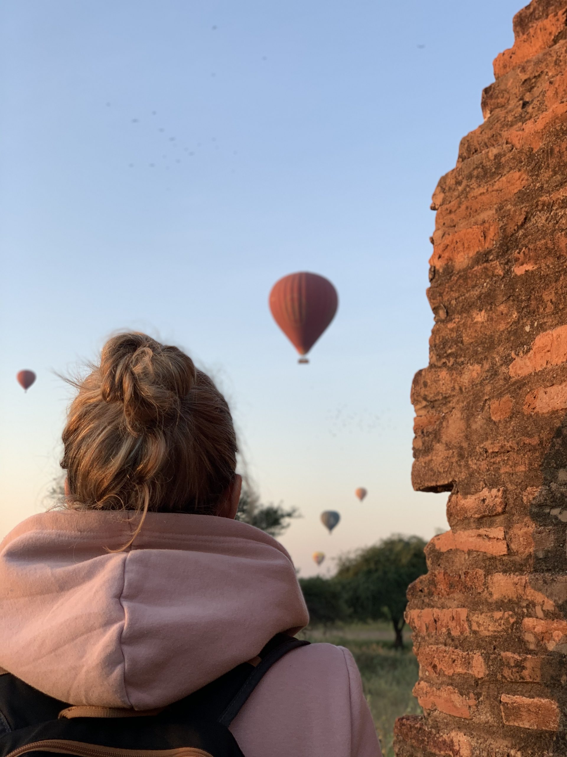 bagan lever de soleil birmanie