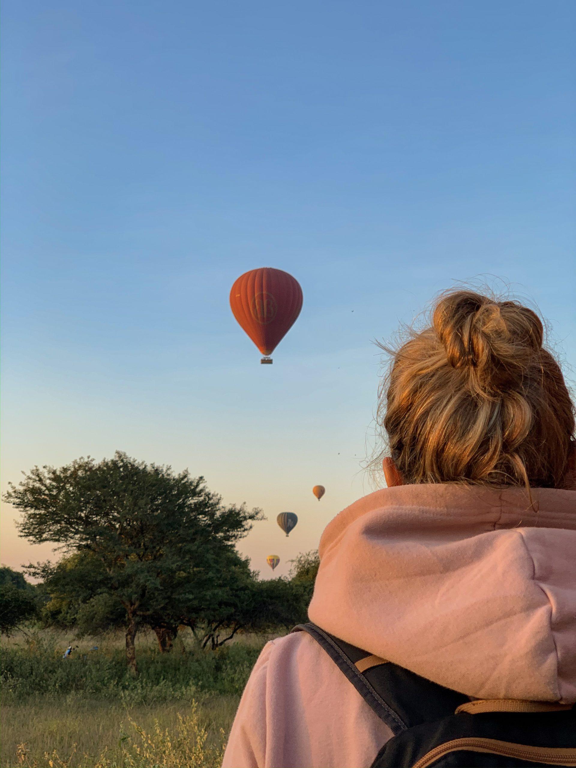 bagan montgolfière