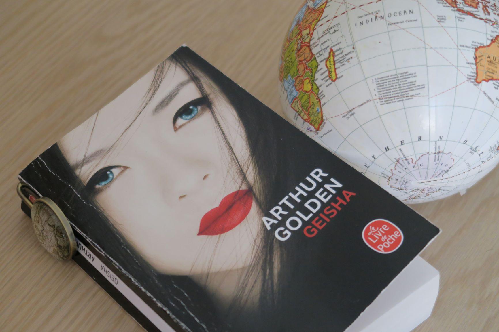 livre voyage geisha