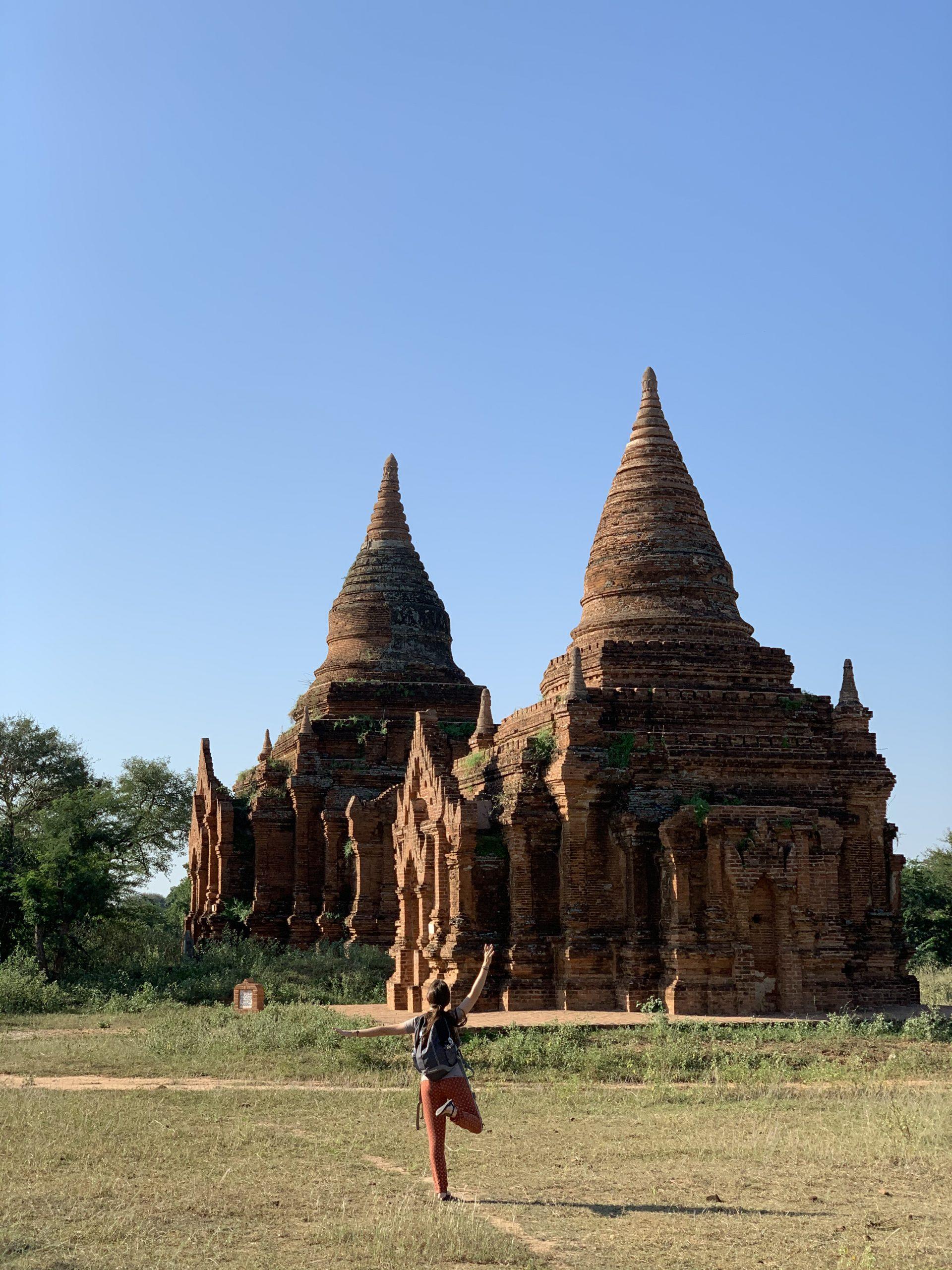 visiter bagan et la chasse aux pagodes