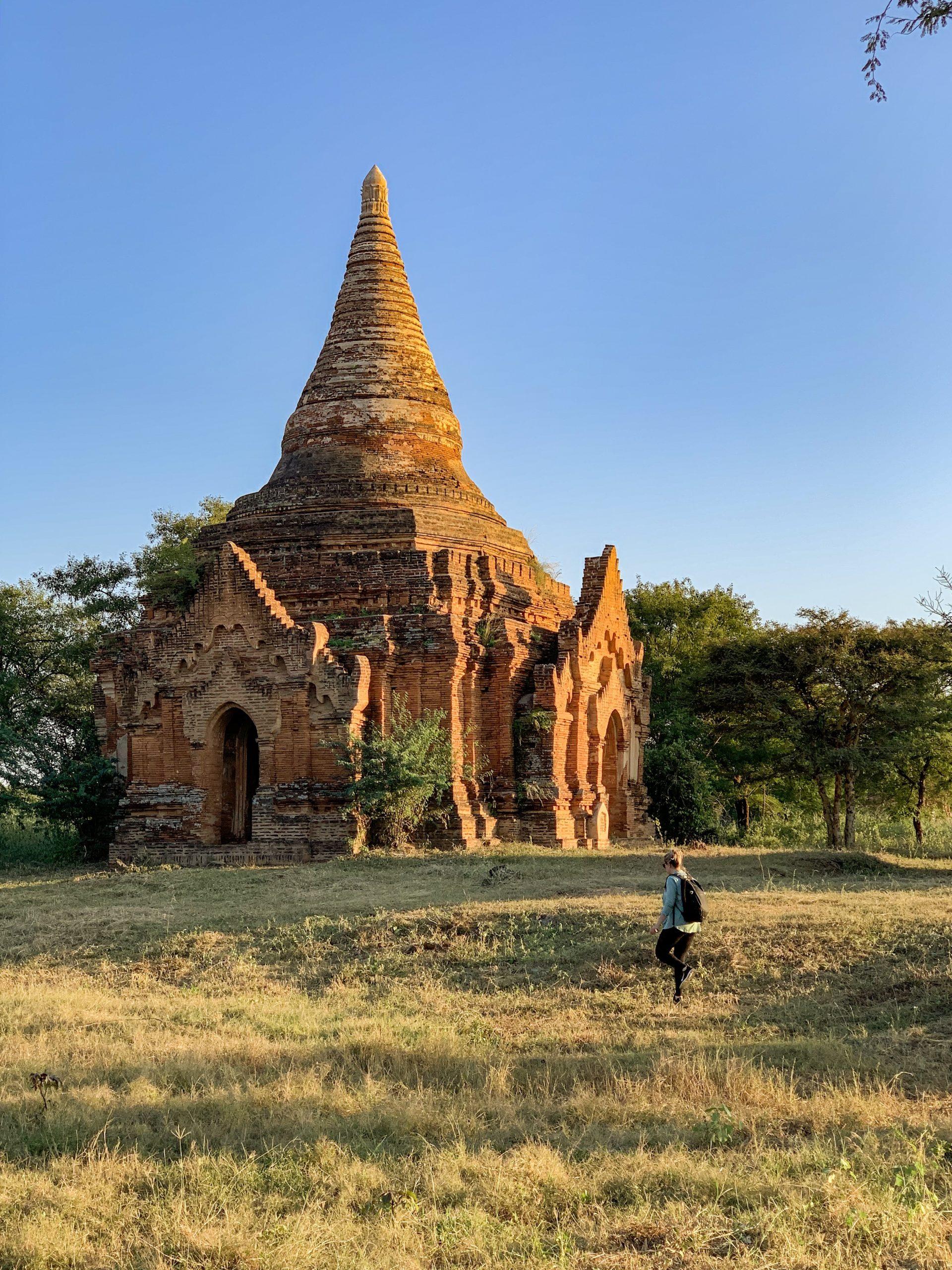 vivre l'aventure de sa vie à Bagan