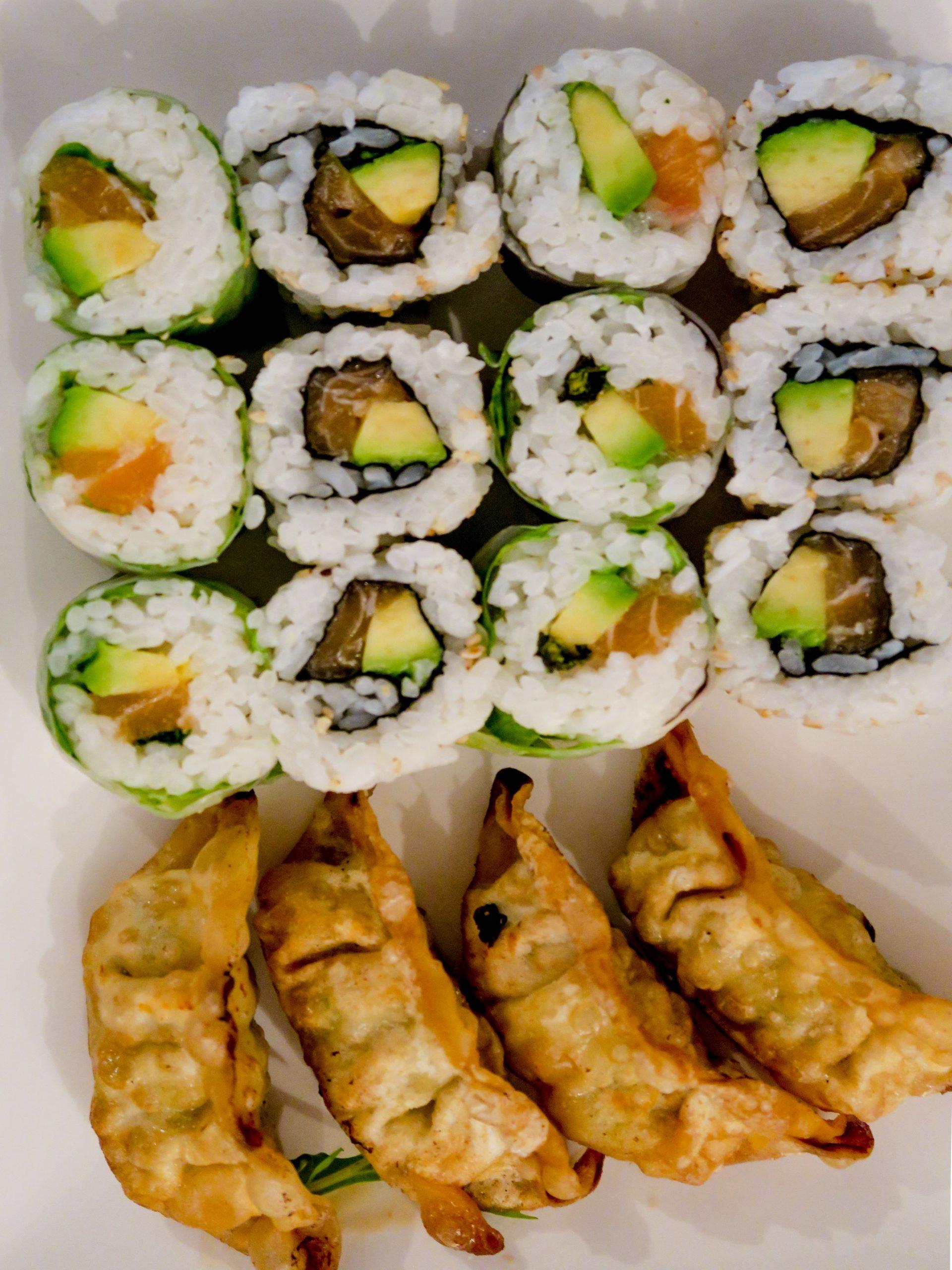 les jolis sushis de Yori Izakaya