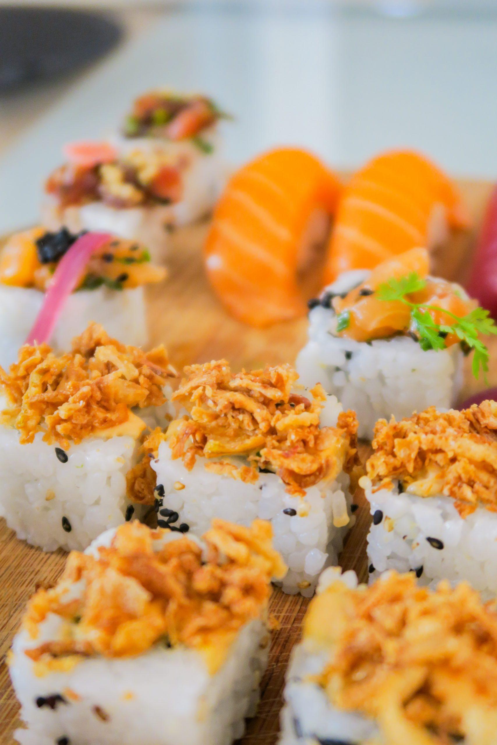 sushis et makis de chez rubens gomez à perpignan