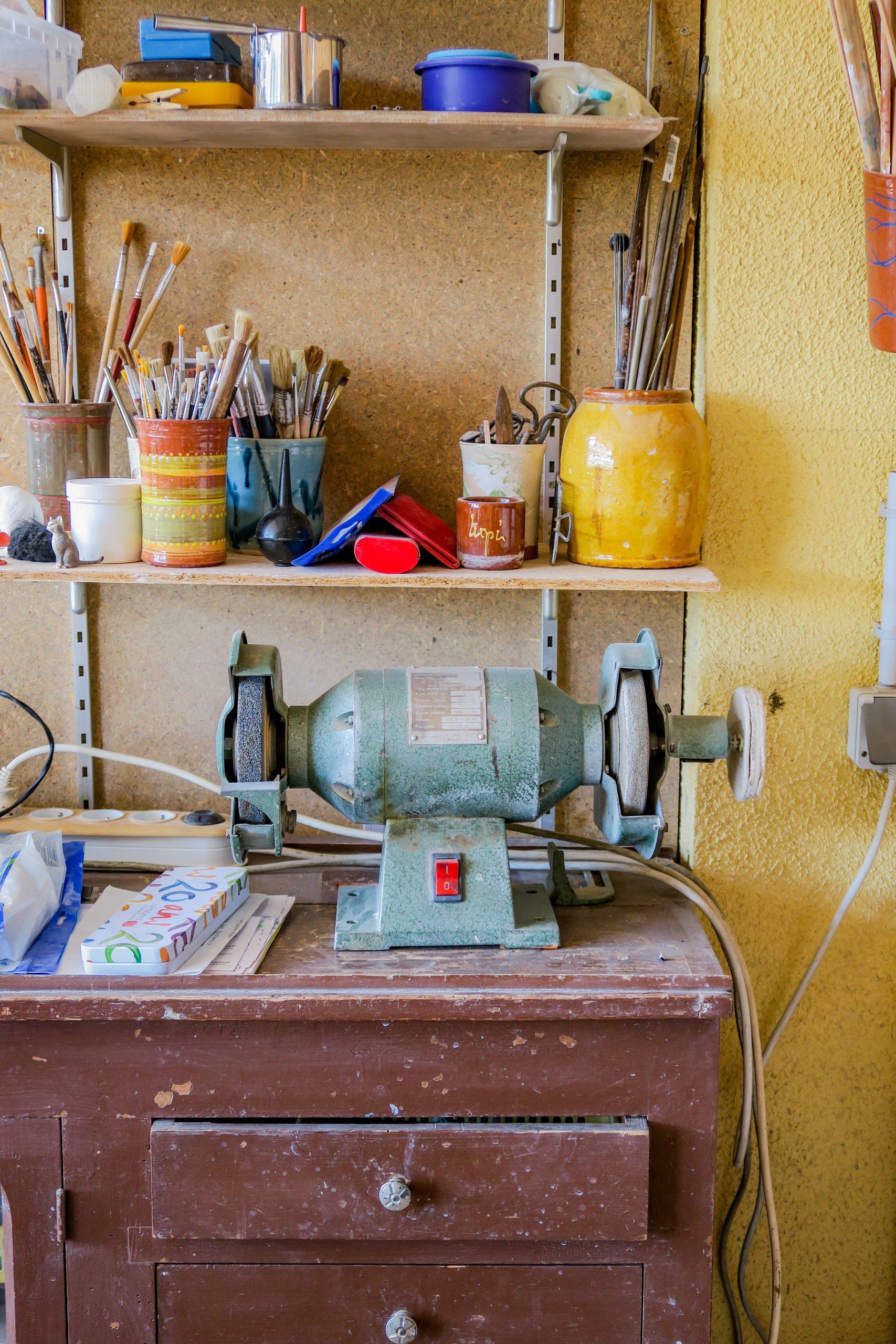 atelier de poterie molitg-les-bains