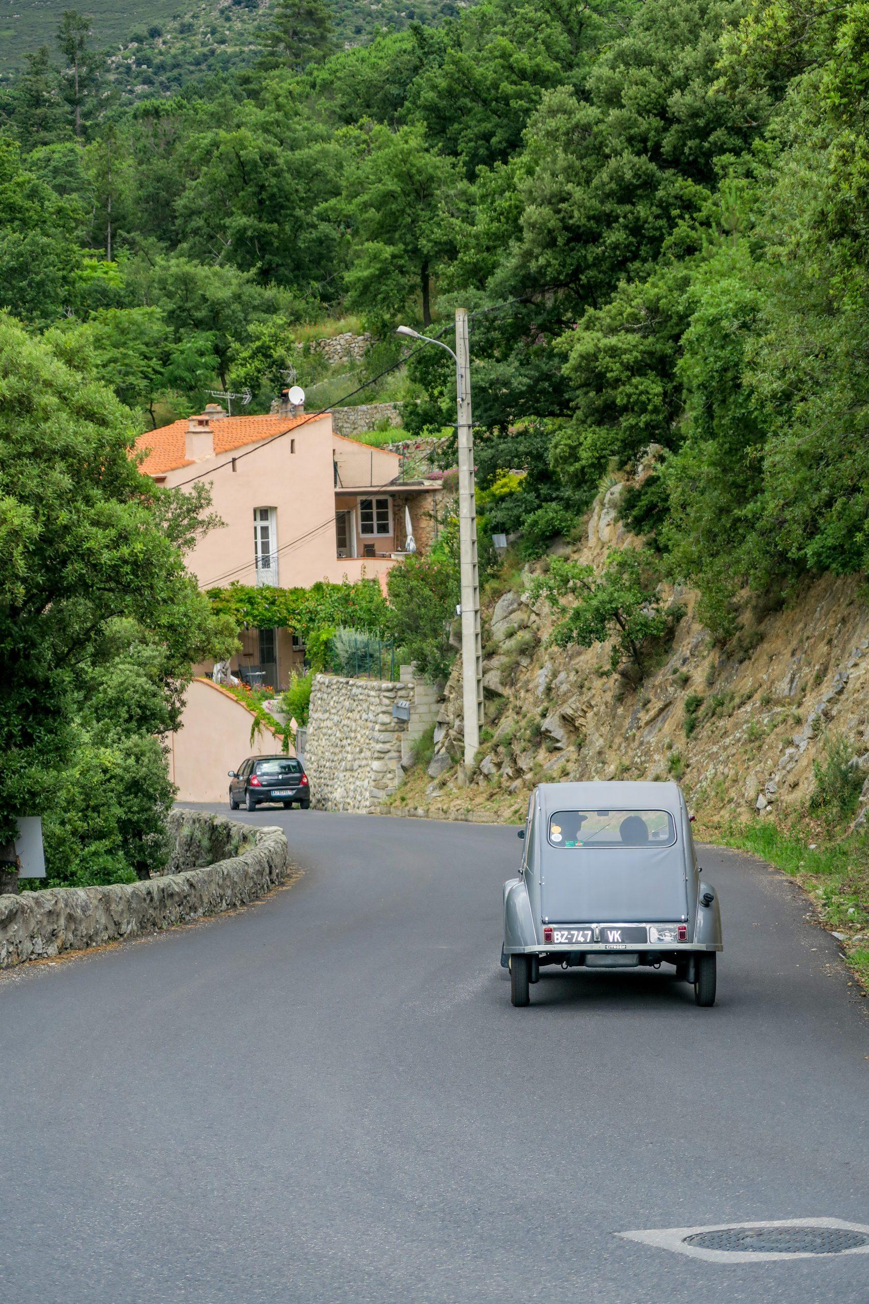en direction de molitg village